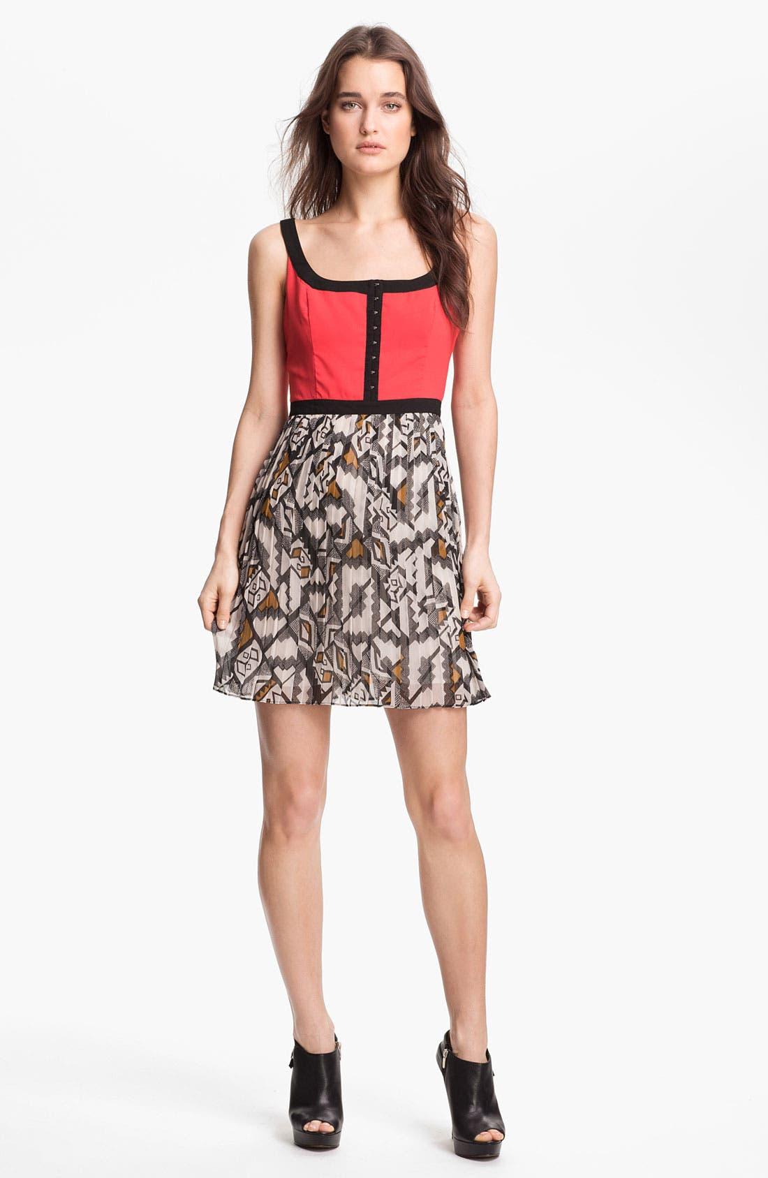 Main Image - BB Dakota 'Pfeiffer' Fit & Flare Dress