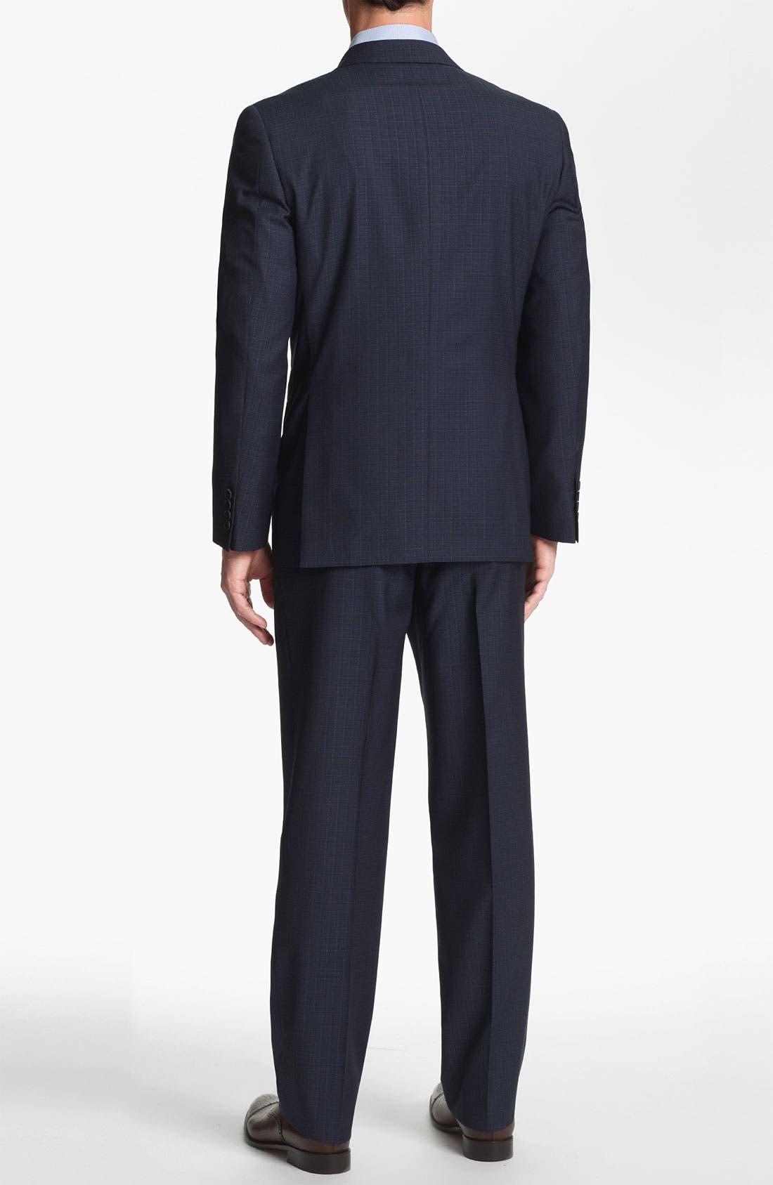 Alternate Image 3  - Joseph Abboud Trim Fit Check Wool Suit
