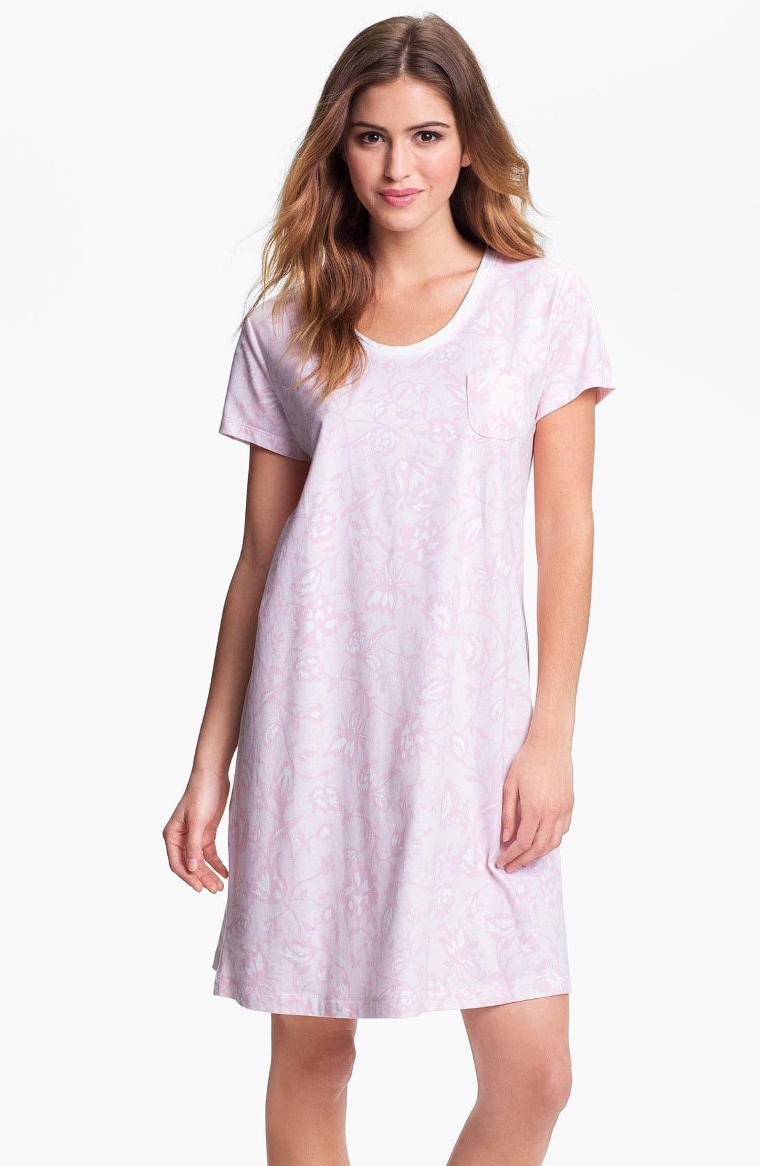 Alternate Image 1 Selected - Carole Hochman Designs Short Sleeve Sleep Shirt