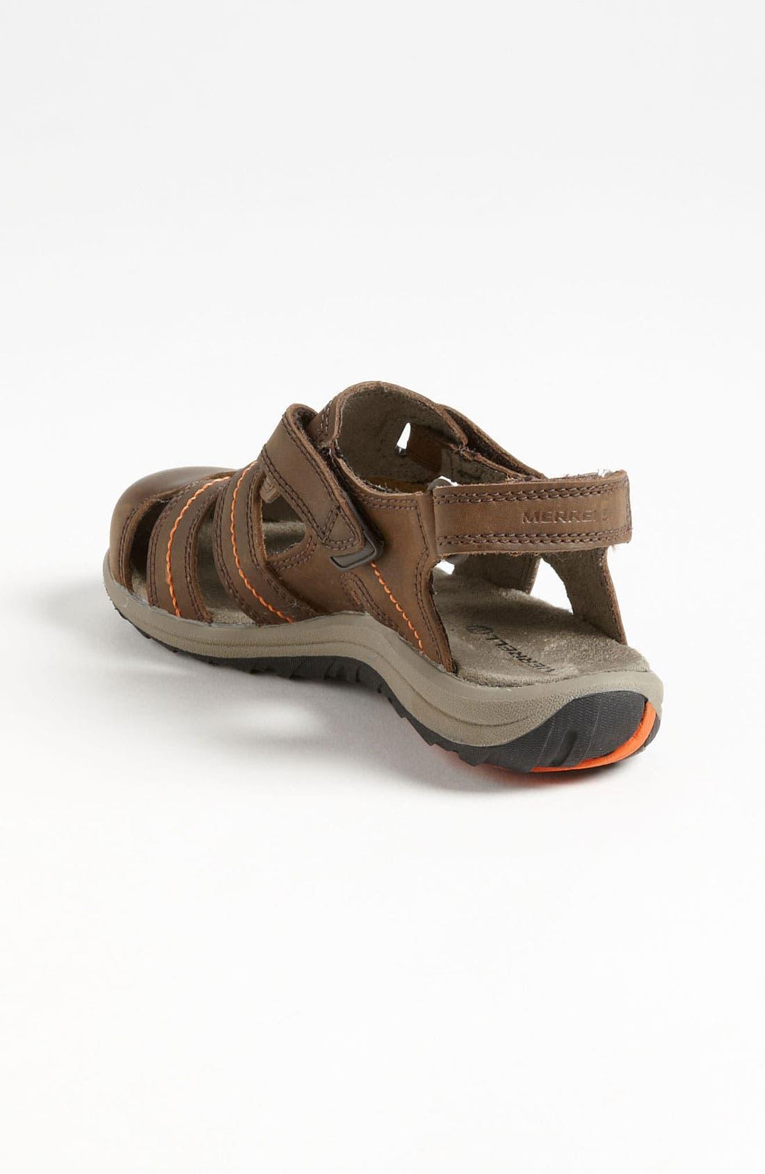 Alternate Image 2  - Merrell 'Sidekick Deck' Sandal (Toddler, Little Kid & Big Kid)