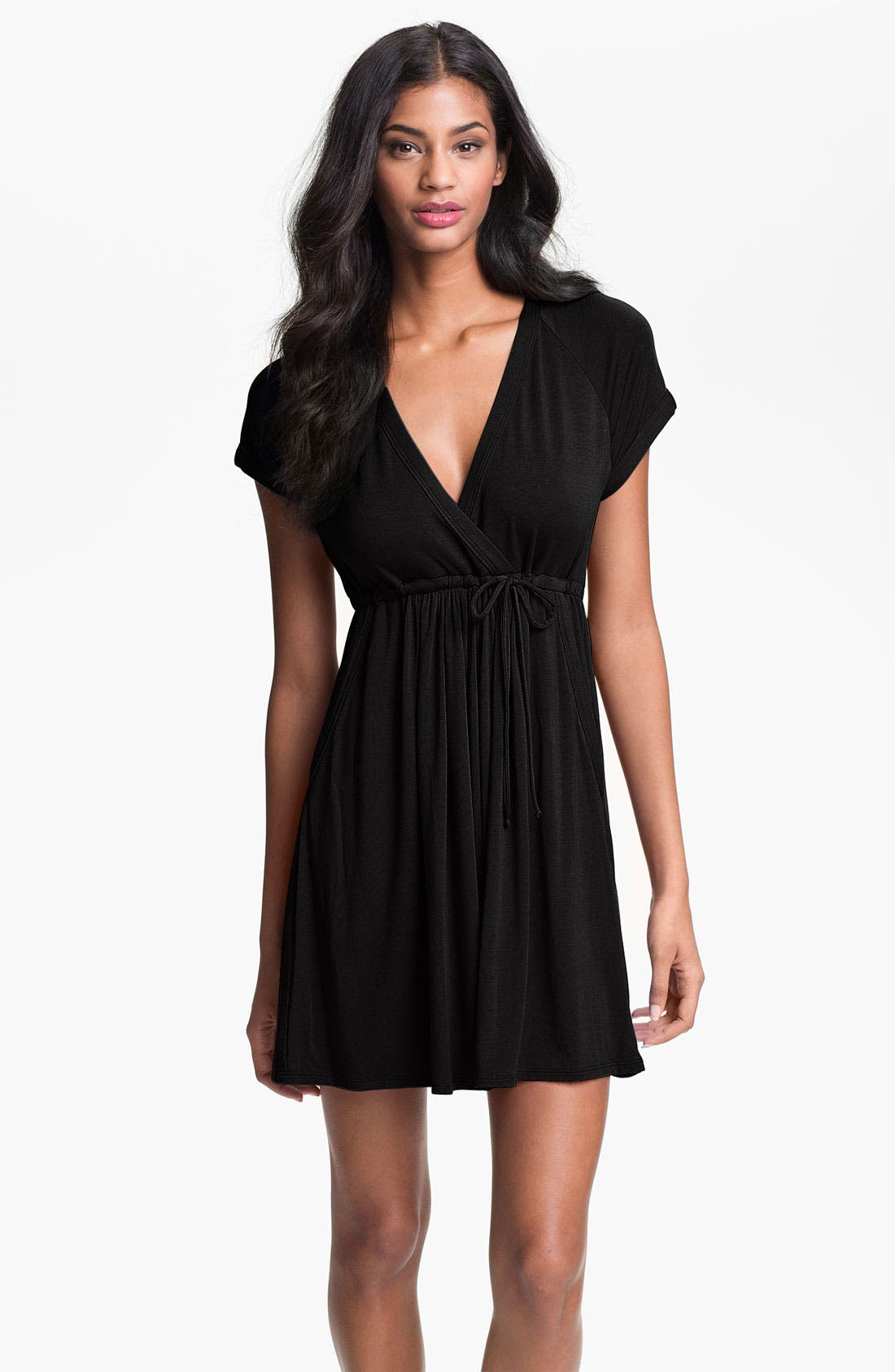 Alternate Image 1 Selected - Robin Piccone Surplice Cover-Up Dress