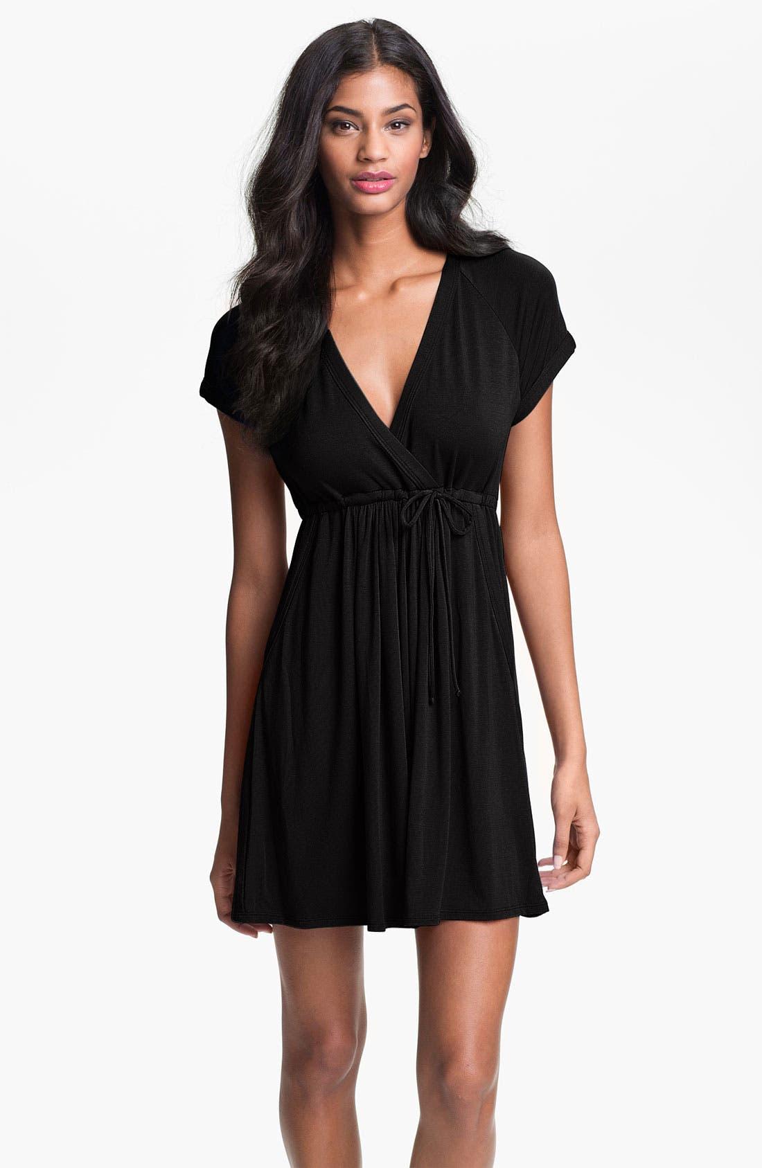 Main Image - Robin Piccone Surplice Cover-Up Dress