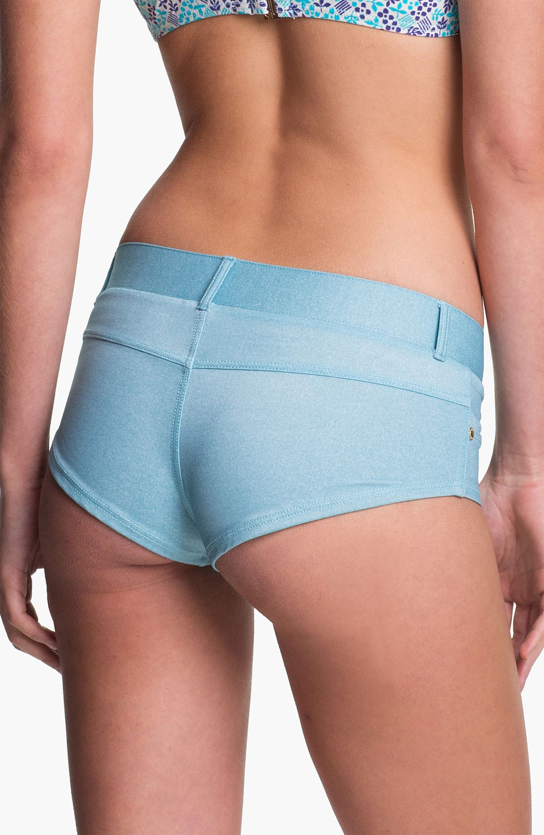 Alternate Image 2  - MARC BY MARC JACOBS Denim Hipster Bikini Bottoms