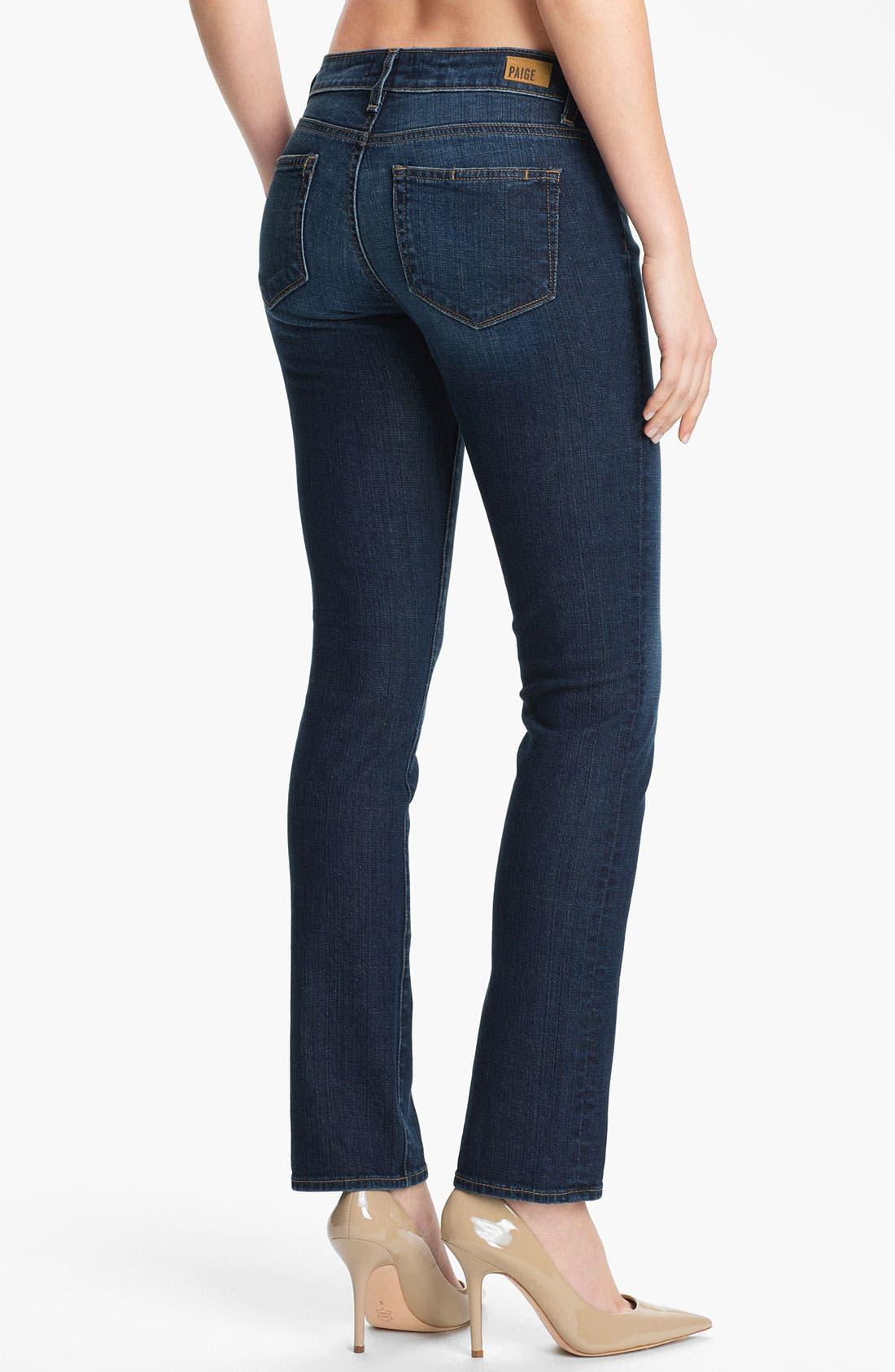 Alternate Image 2  - Paige Denim 'Kelsi' Straight Leg Stretch Jeans (Carley)