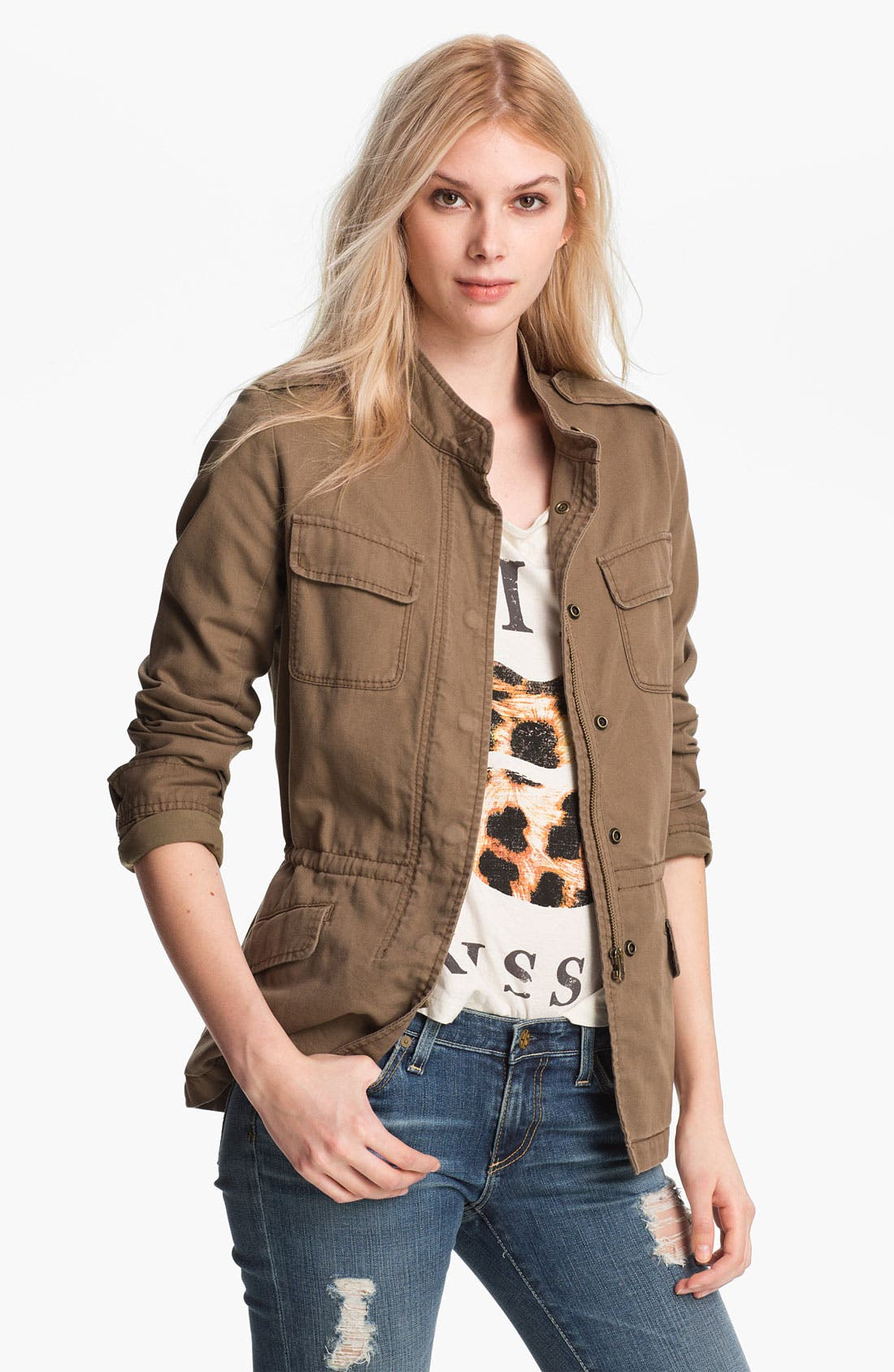 Alternate Image 1 Selected - Hinge Army Jacket