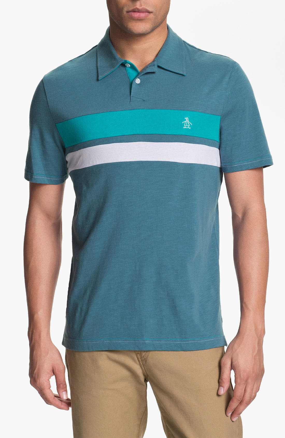 Alternate Image 1 Selected - Original Penguin Colorblock Polo