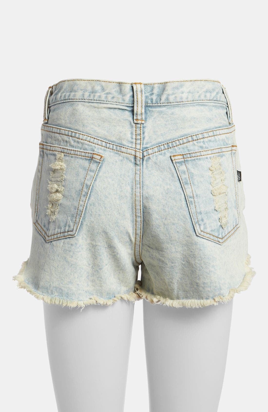 Alternate Image 3  - MINKPINK 'Slasher Flick' Acid Wash Shorts