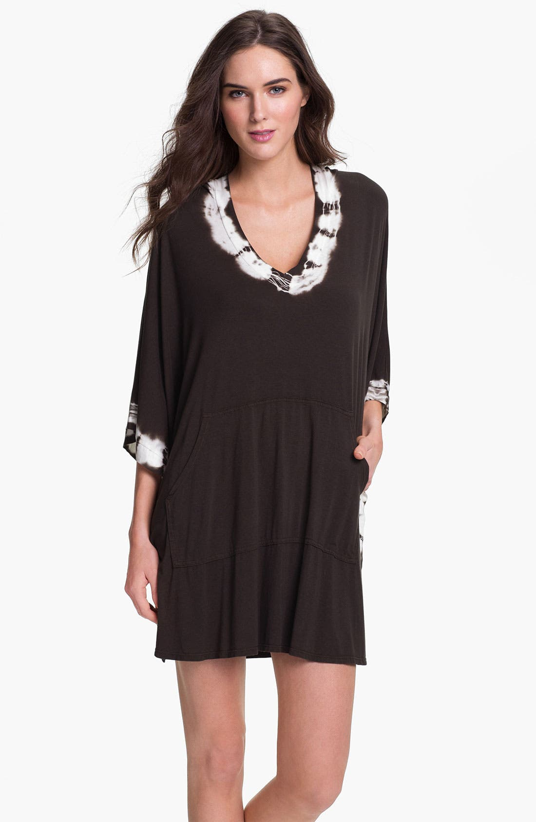 Alternate Image 1 Selected - Lucky Brand Swimwear 'Summer Lovin' Hooded Dress
