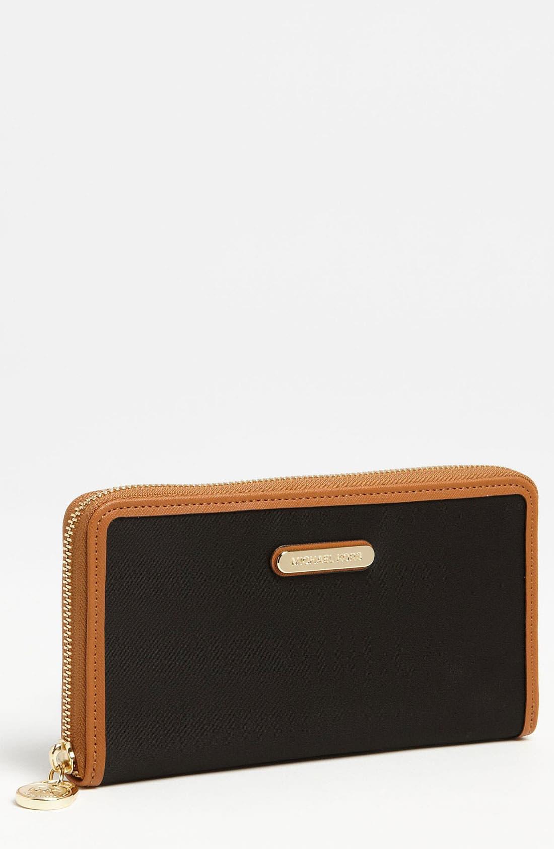 Main Image - MICHAEL Michael Kors 'Kempton' Zip Around Continental Wallet