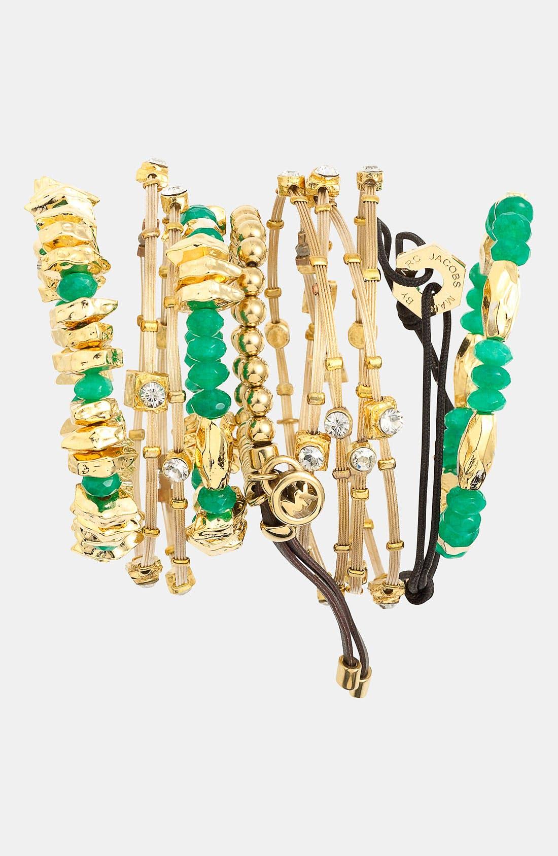 Alternate Image 2  - Nordstrom Bead Stretch Bracelets (Set of 3)
