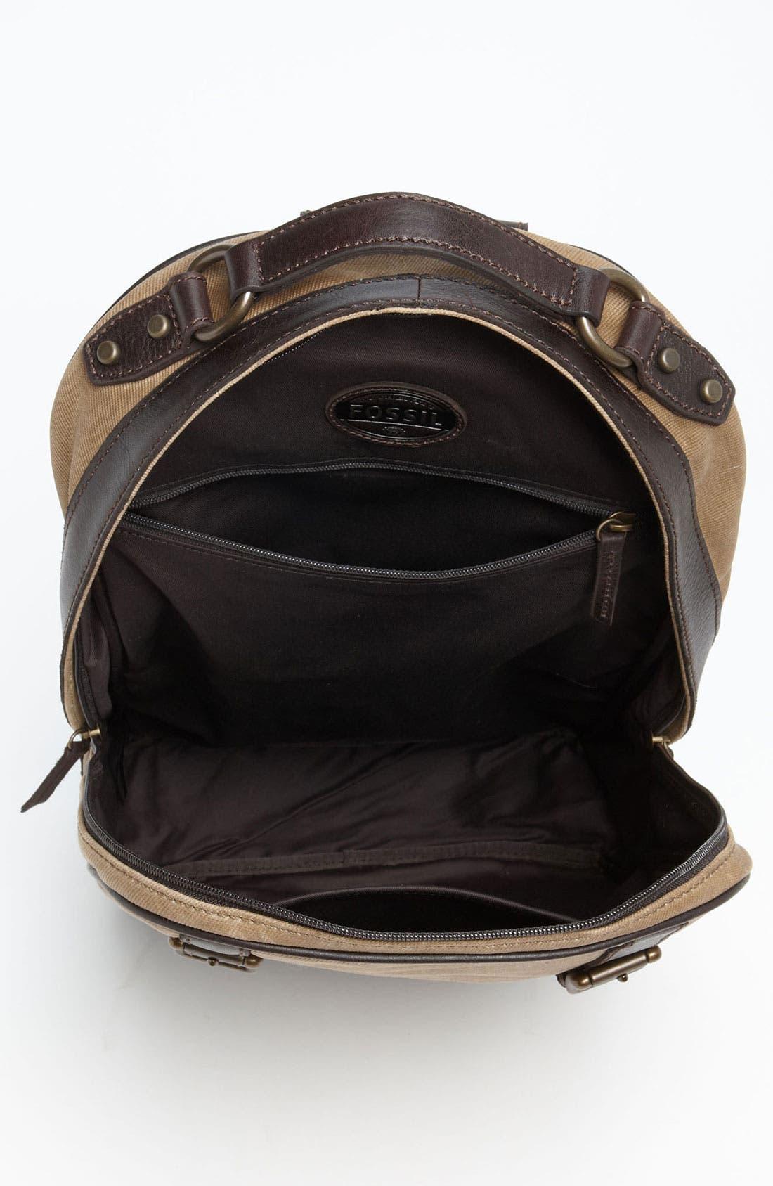 Alternate Image 3  - Fossil 'Estate' Backpack