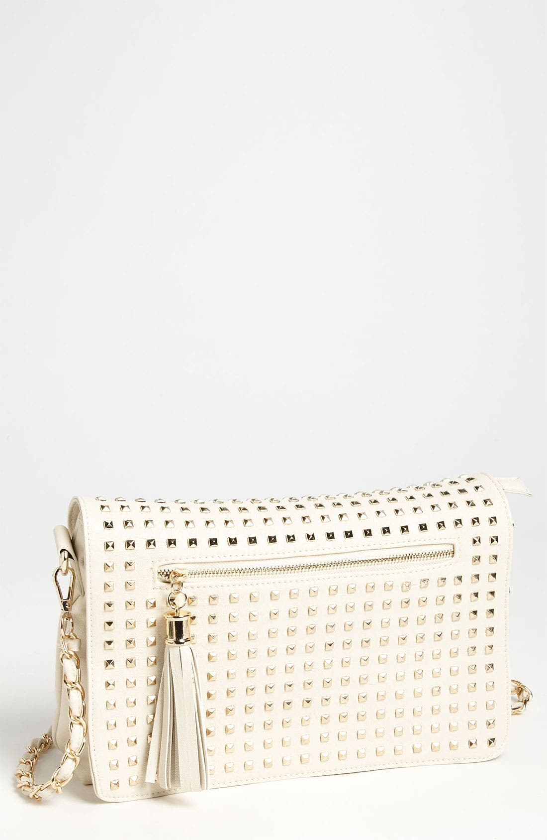 Alternate Image 1 Selected - NB Handbags Studded Convertible Crossbody (Juniors)