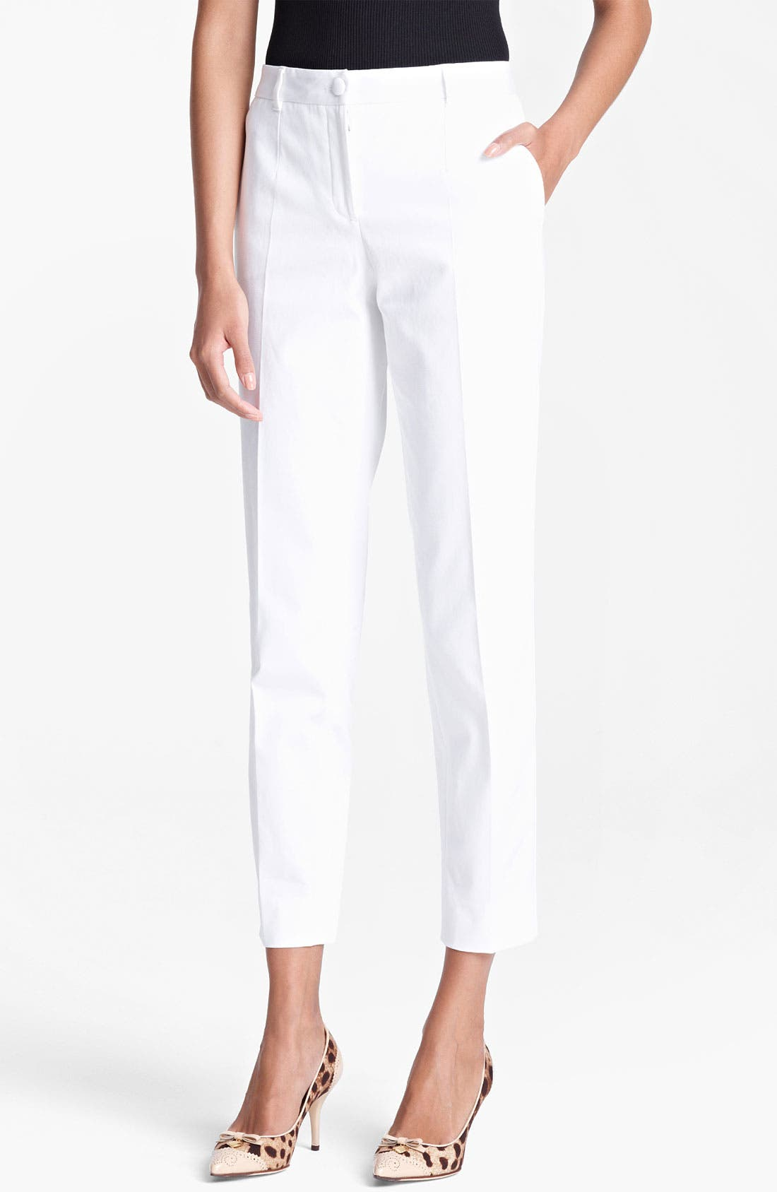 Alternate Image 1 Selected - Dolce&Gabbana Skinny Ankle Pants