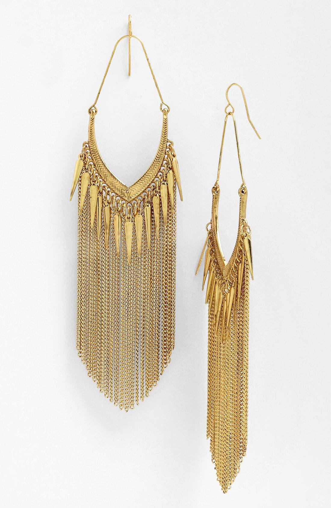 Main Image - Stephan & Co. Fringe Earrings
