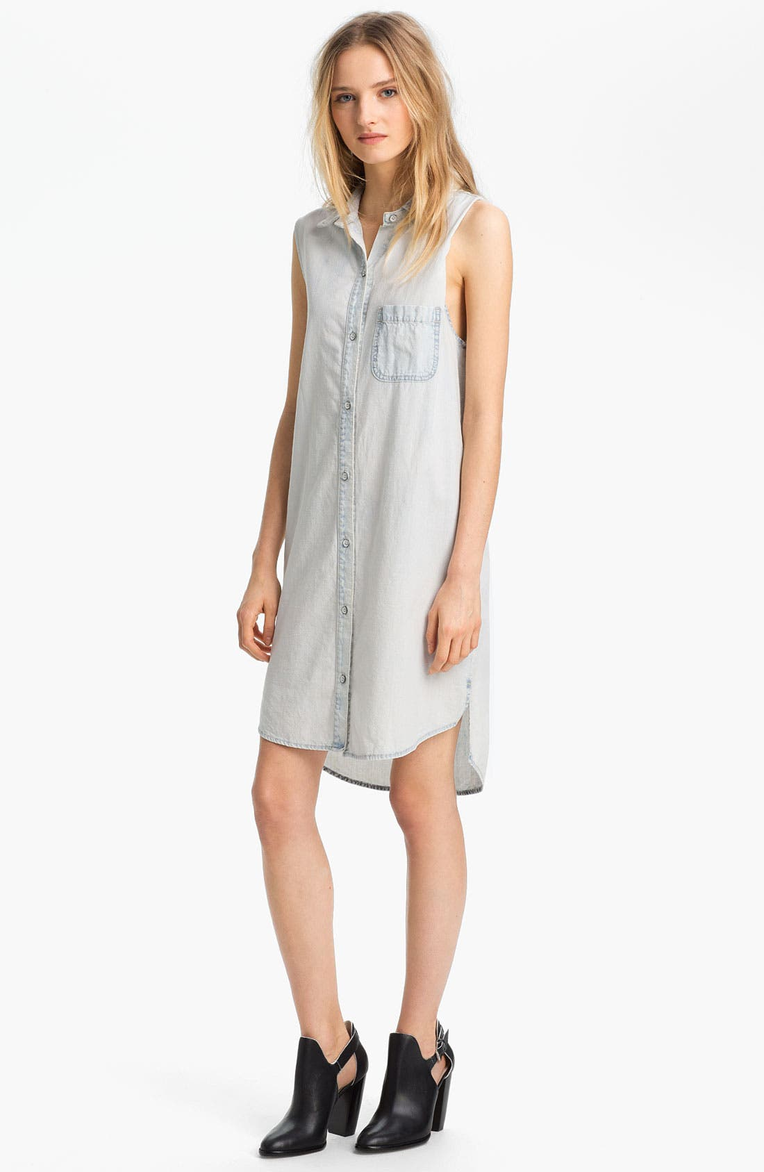 Alternate Image 1 Selected - rag & bone/JEAN 'The Norfolk' Denim Dress