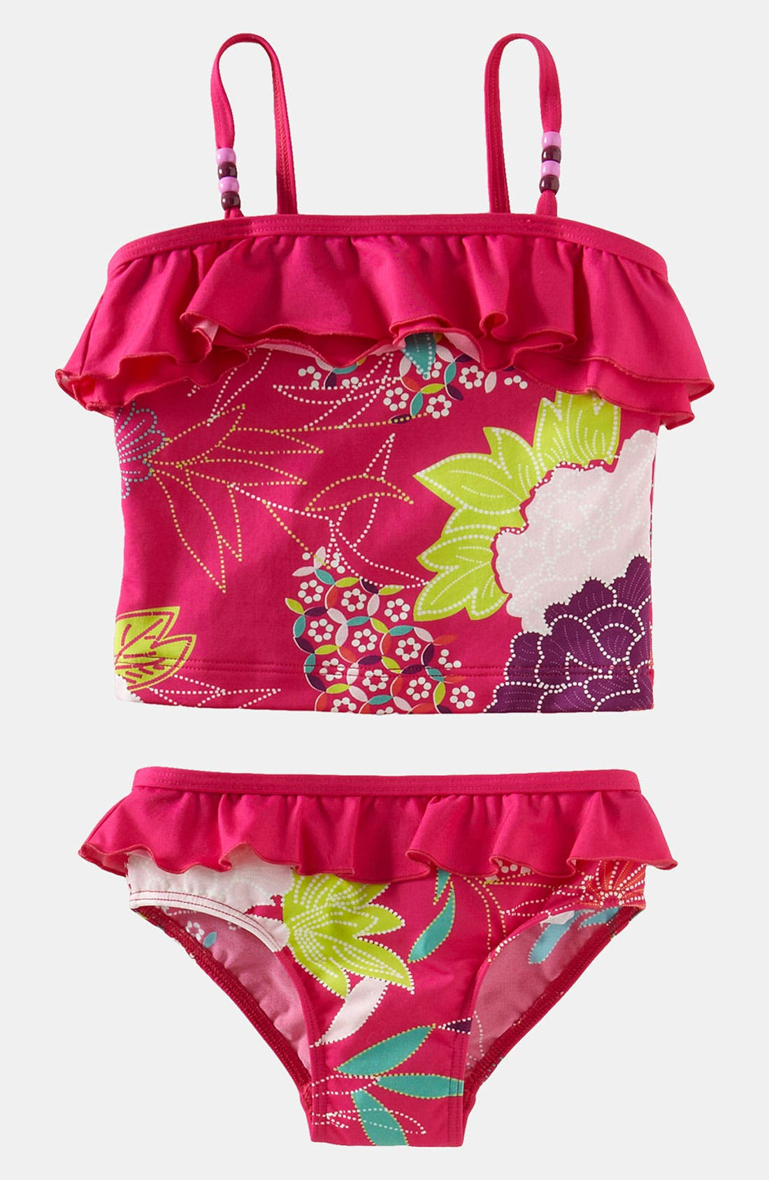 Main Image - Tea Collection Two Piece Swimsuit (Little Girls & Big Girls)