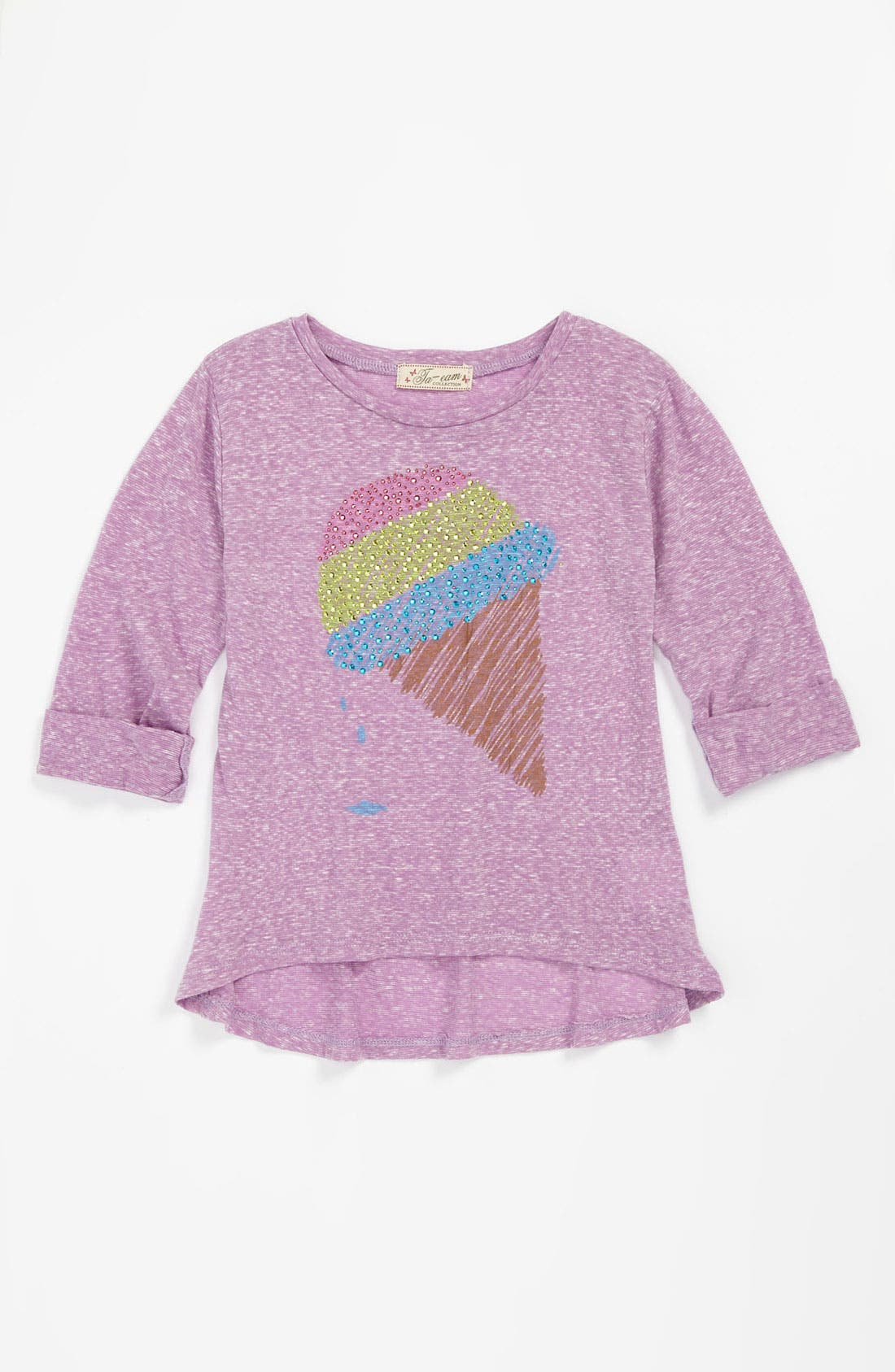 Main Image - TA-EAM Solid Top (Little Girls)