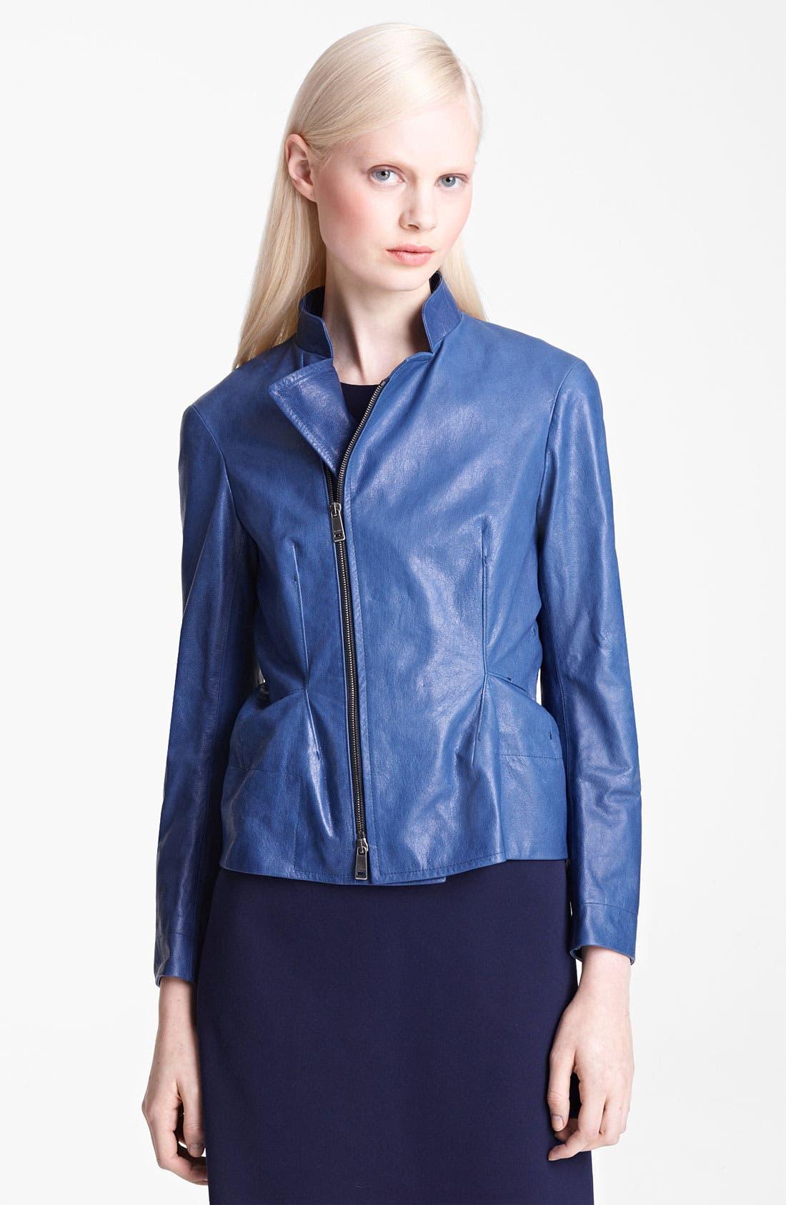 Alternate Image 1 Selected - Jil Sander Leather Jacket
