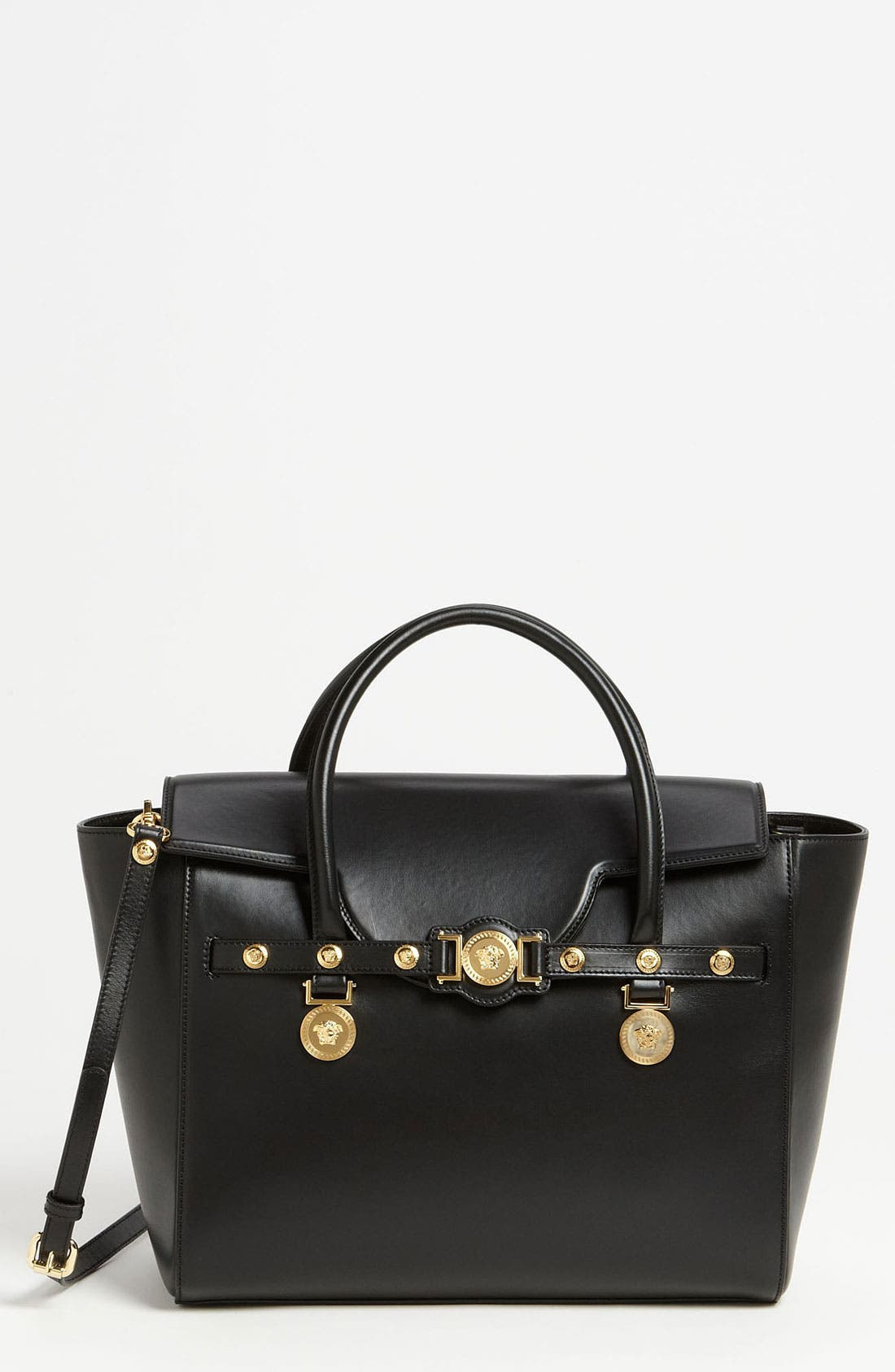 Main Image - Versace 'Classic' Leather Satchel