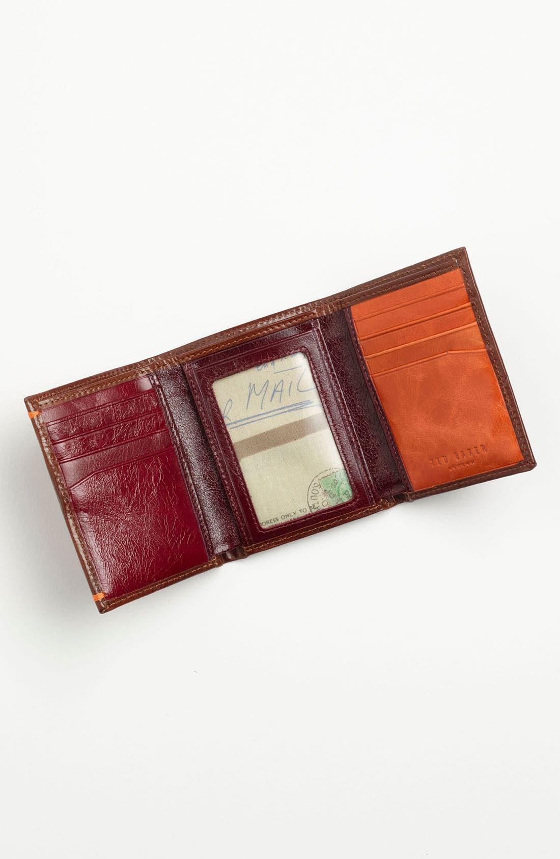 Alternate Image 3  - Ted Baker London Leather Wallet