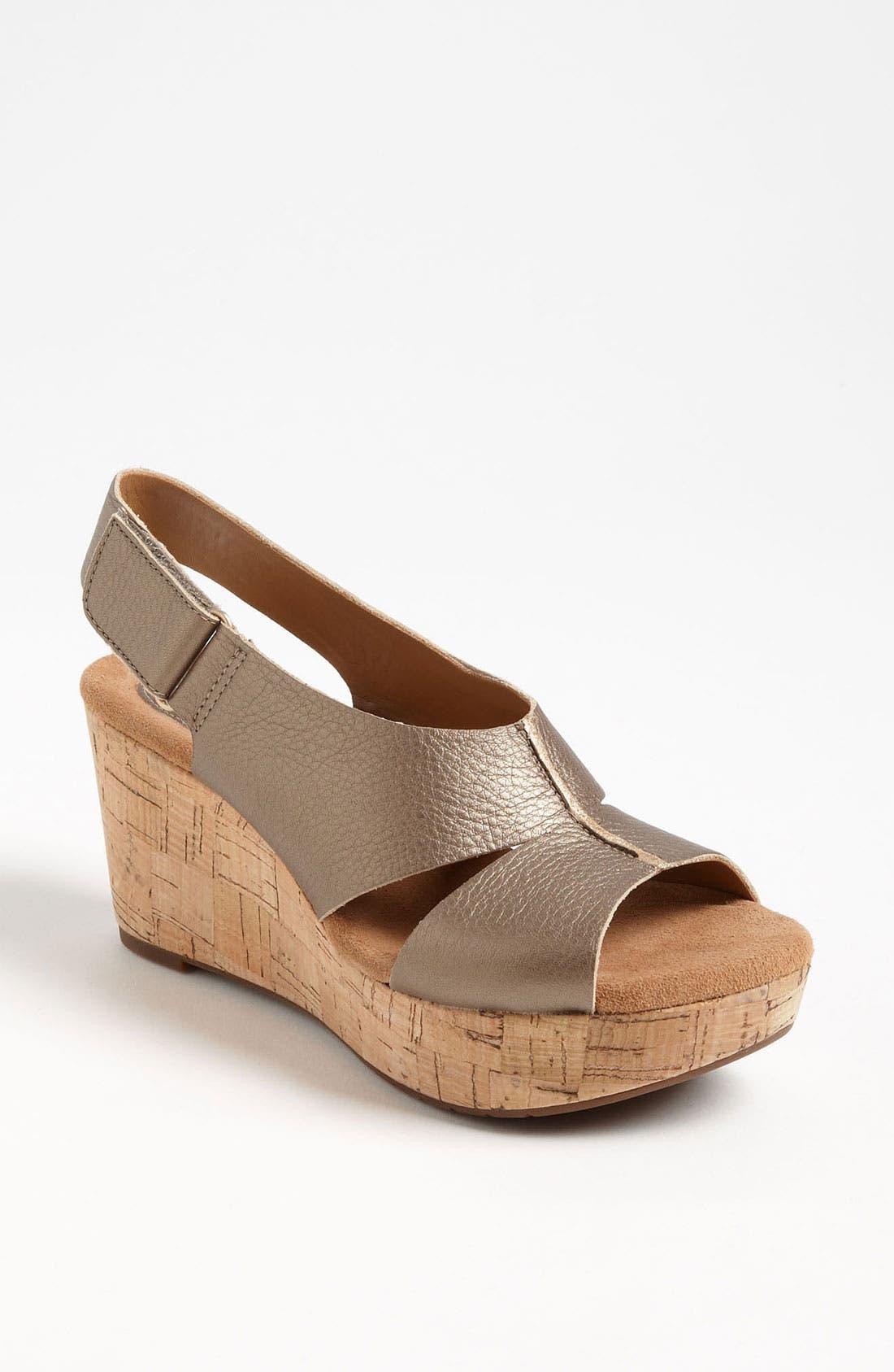 Alternate Image 1 Selected - Clarks® 'Cassylynn Lizzie' Sandal