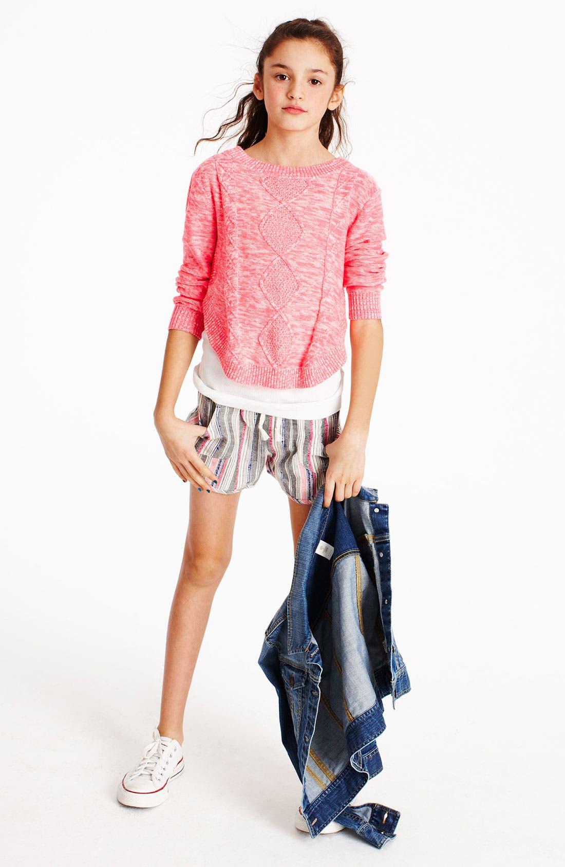 Alternate Image 2  - Roxy 'Sweet & Sunny' Shorts (Big Girls)