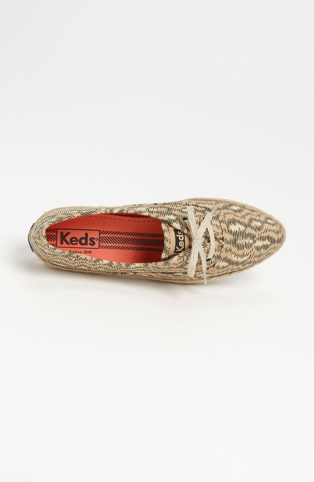 Alternate Image 3  - Keds® 'Pointer Animal' Jute Trim Sneaker (Women)