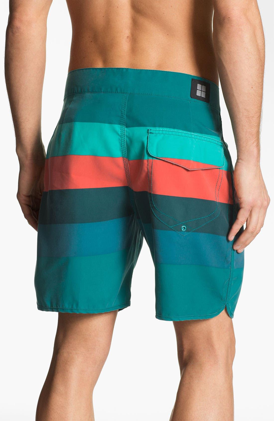 Alternate Image 2  - Insight 'Retro Stud' Swim Shorts