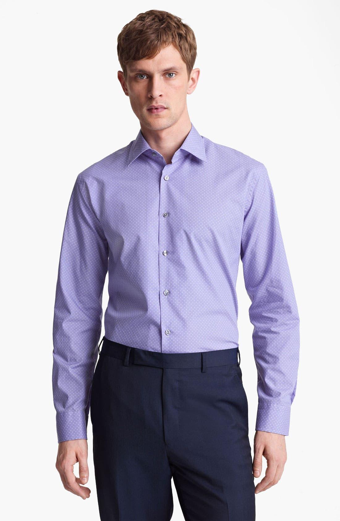 Alternate Image 1 Selected - Paul Smith London Pin Dot Dress Shirt
