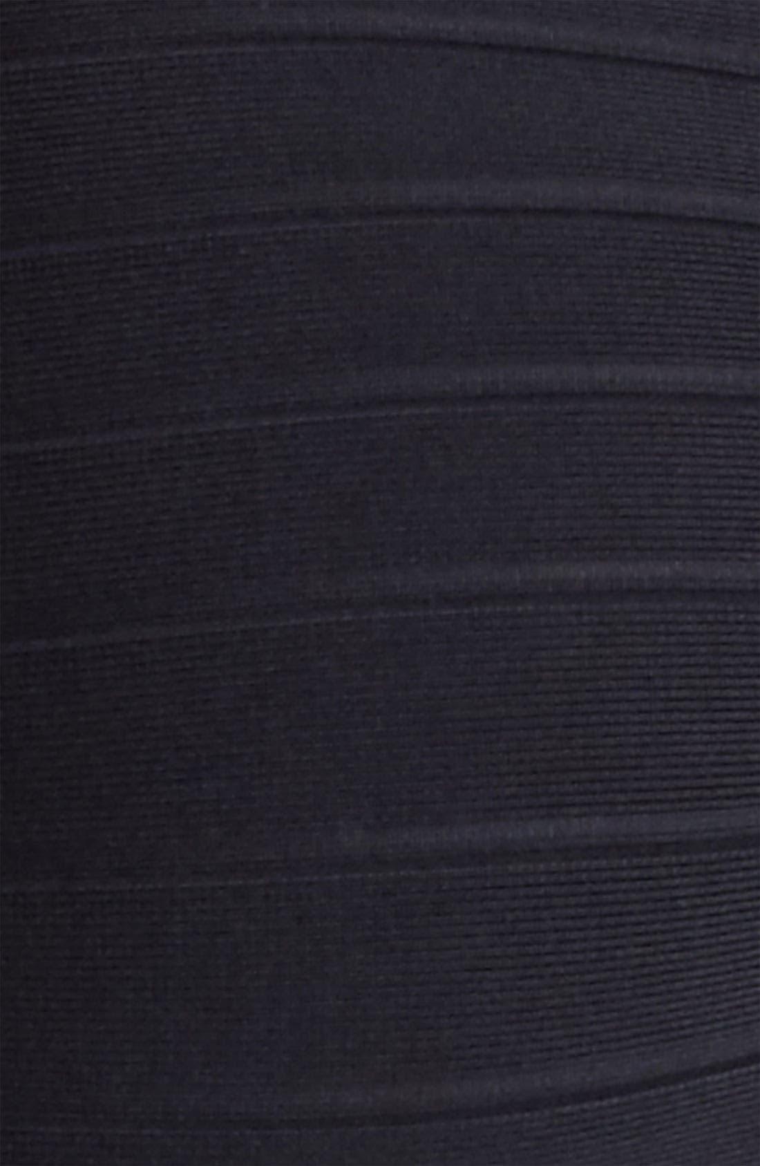 Alternate Image 3  - Herve Leger Halter Strap Bandage Dress