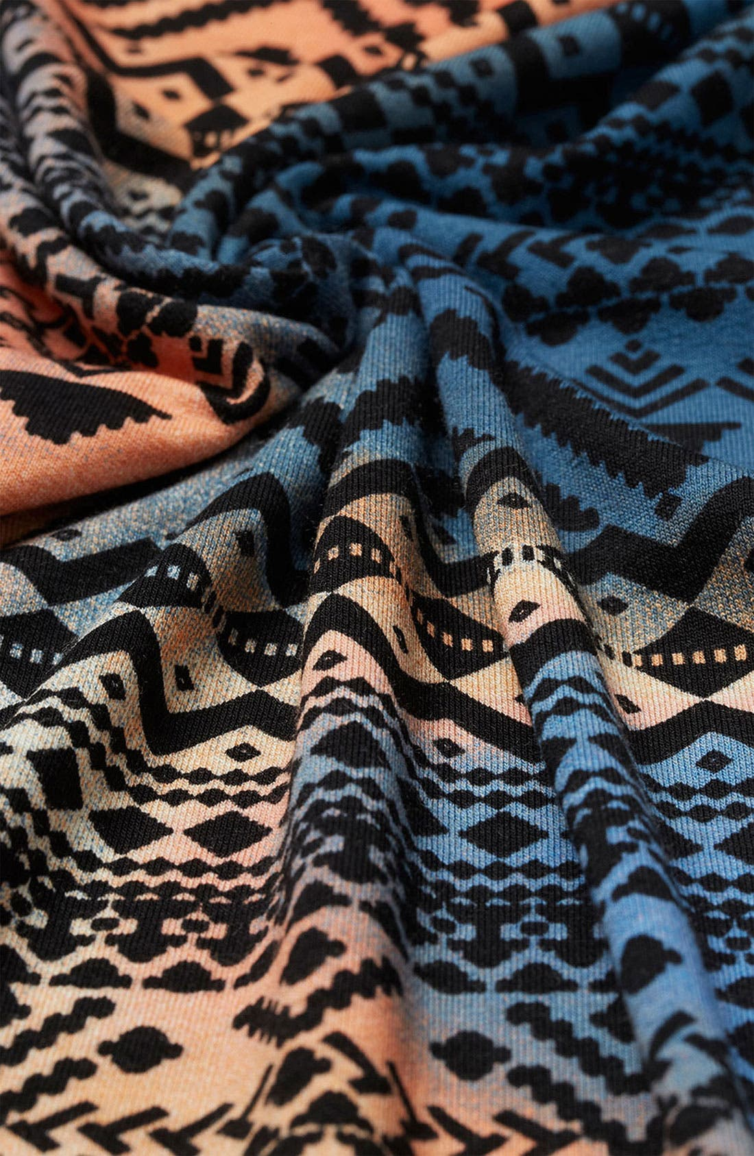 Alternate Image 3  - Topshop Tie Dyed Aztec Print Body-Con Dress