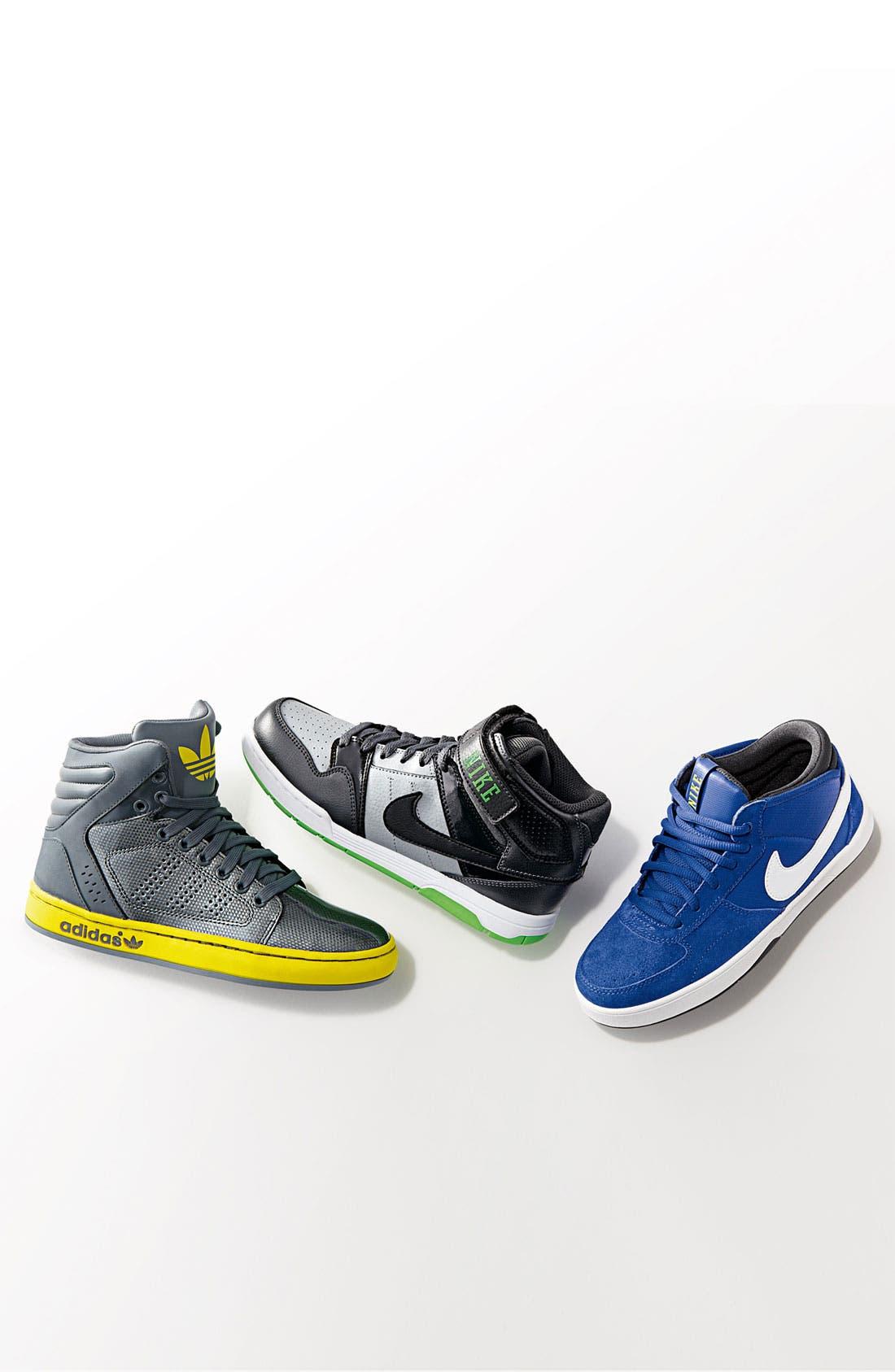 Alternate Image 2  - adidas 'Adi-High Ext' High Top Sneaker (Baby, Walker & Toddler)