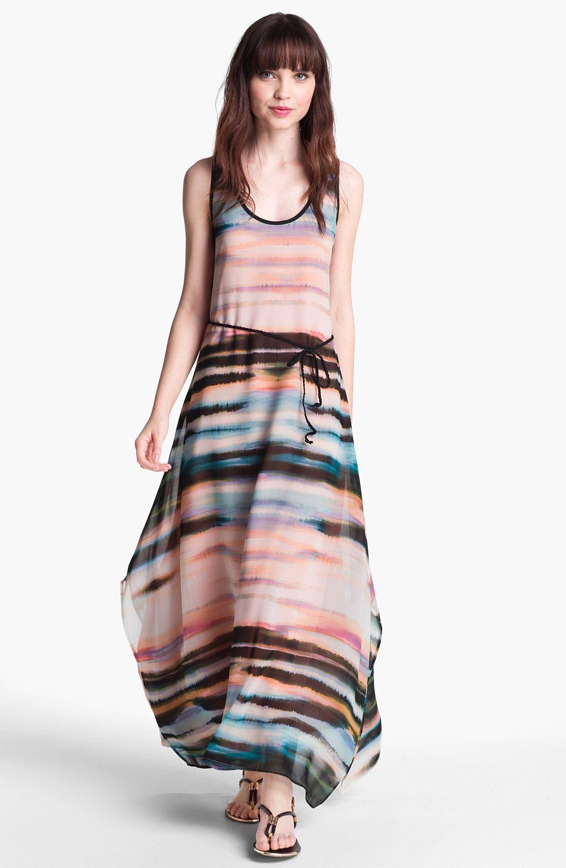 Main Image - Sanctuary 'Painted Sky' Chiffon Maxi Dress