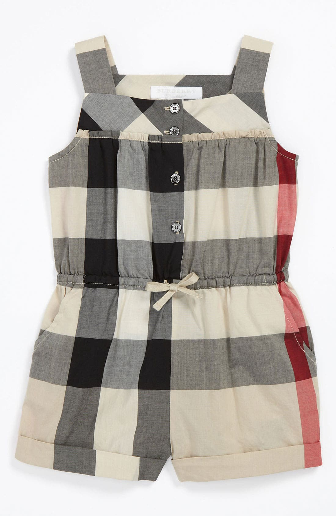 Alternate Image 1 Selected - Burberry 'Rosemarie' Coveralls (Baby)