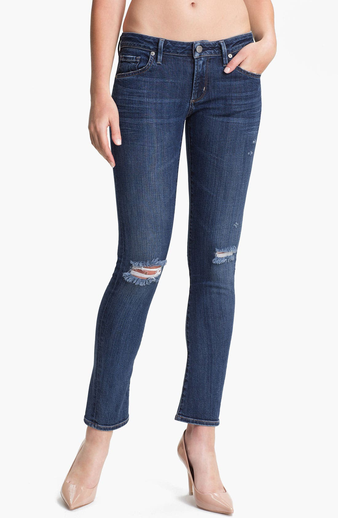 Alternate Image 1 Selected - Citizens of Humanity 'Racer' Skinny Jeans (Poison)
