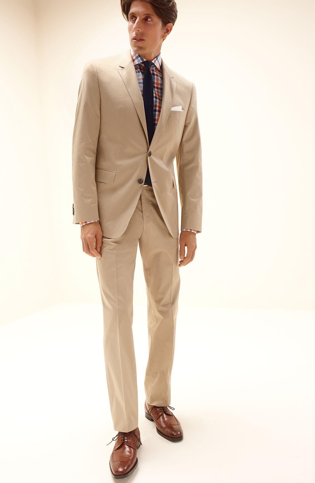 Alternate Image 4  - BOSS HUGO BOSS Sharp Fit Dress Shirt