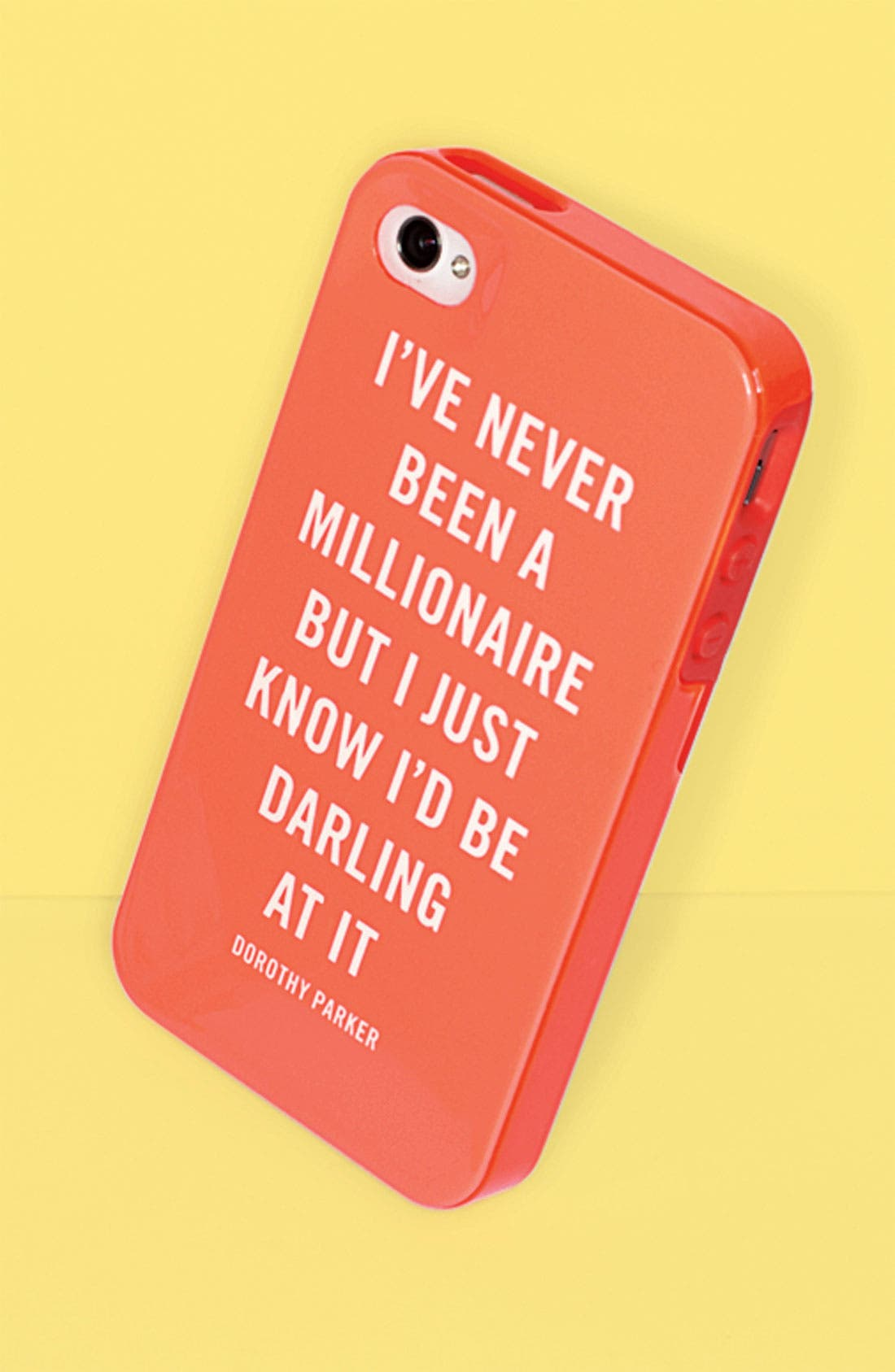 Alternate Image 2  - kate spade new york 'millionaire quote' iPhone 5 & 5S case