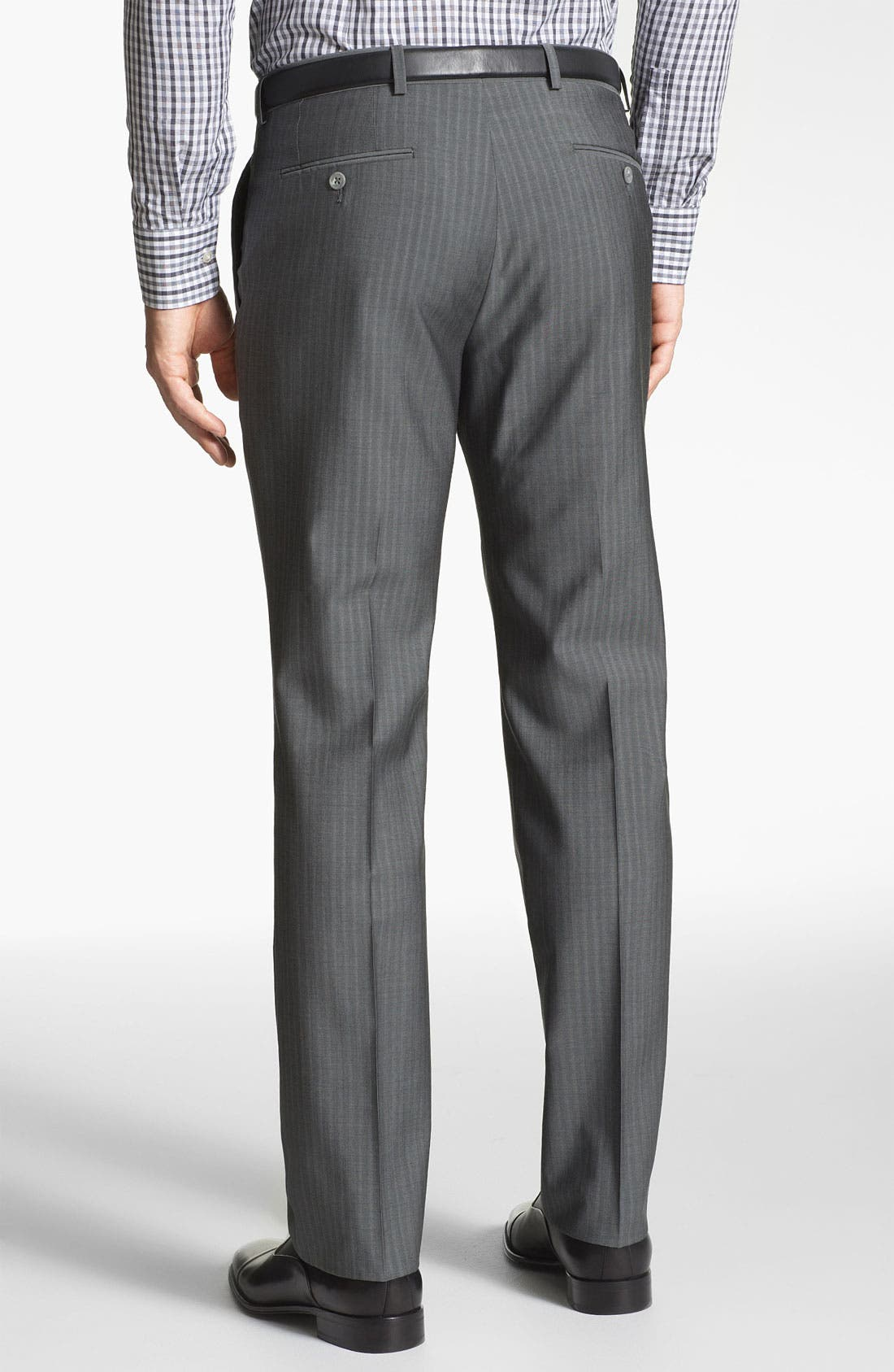 Alternate Image 5  - John Varvatos Star USA 'Filmore' Trim Fit Stripe Suit