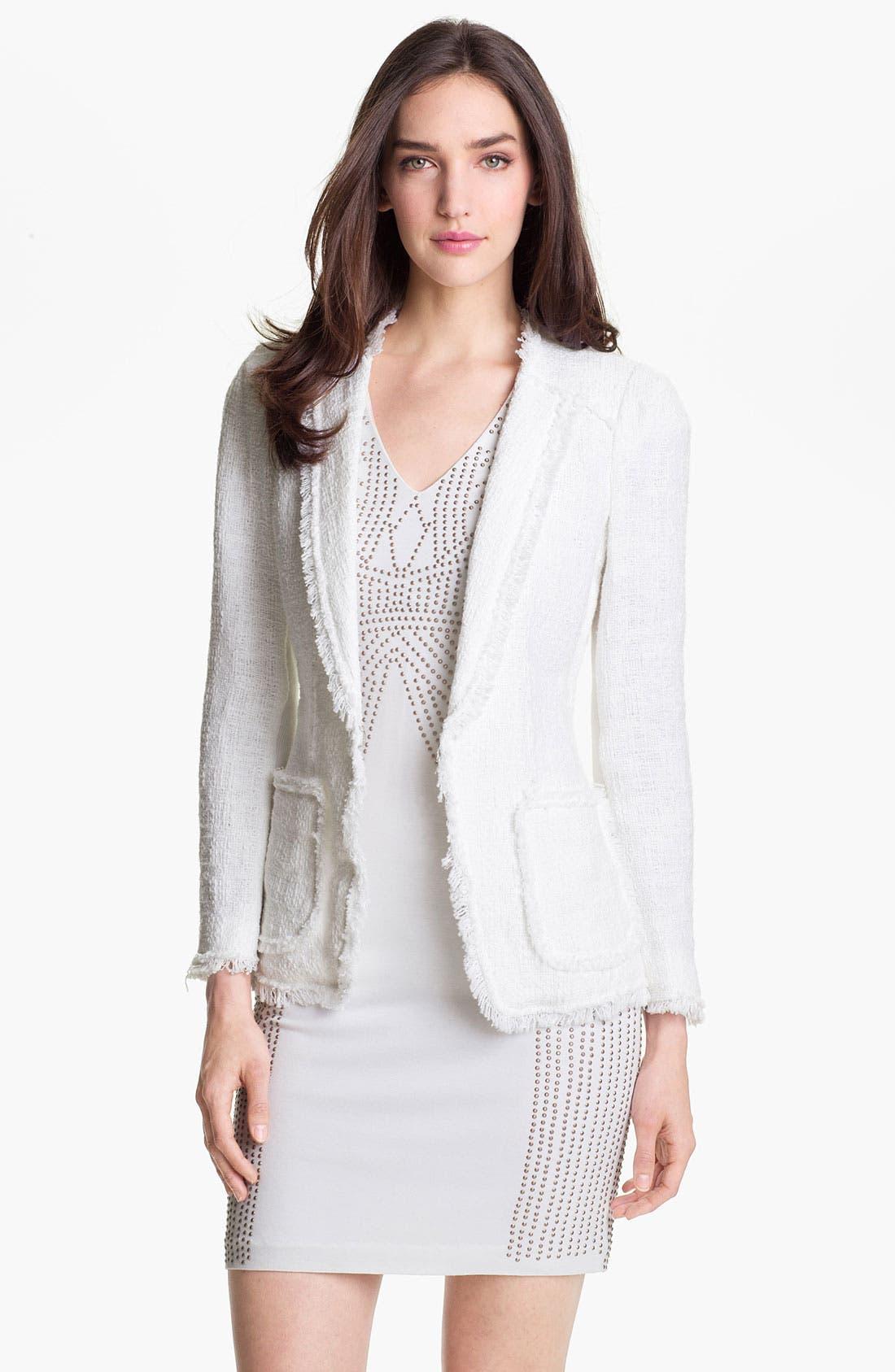 Alternate Image 1 Selected - Rebecca Taylor Tweed Jacket