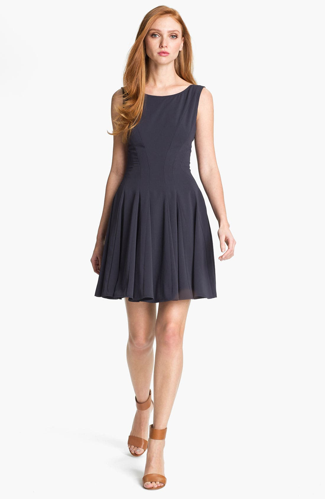 Main Image - Theory 'Kaien W.' Fit & Flare Dress