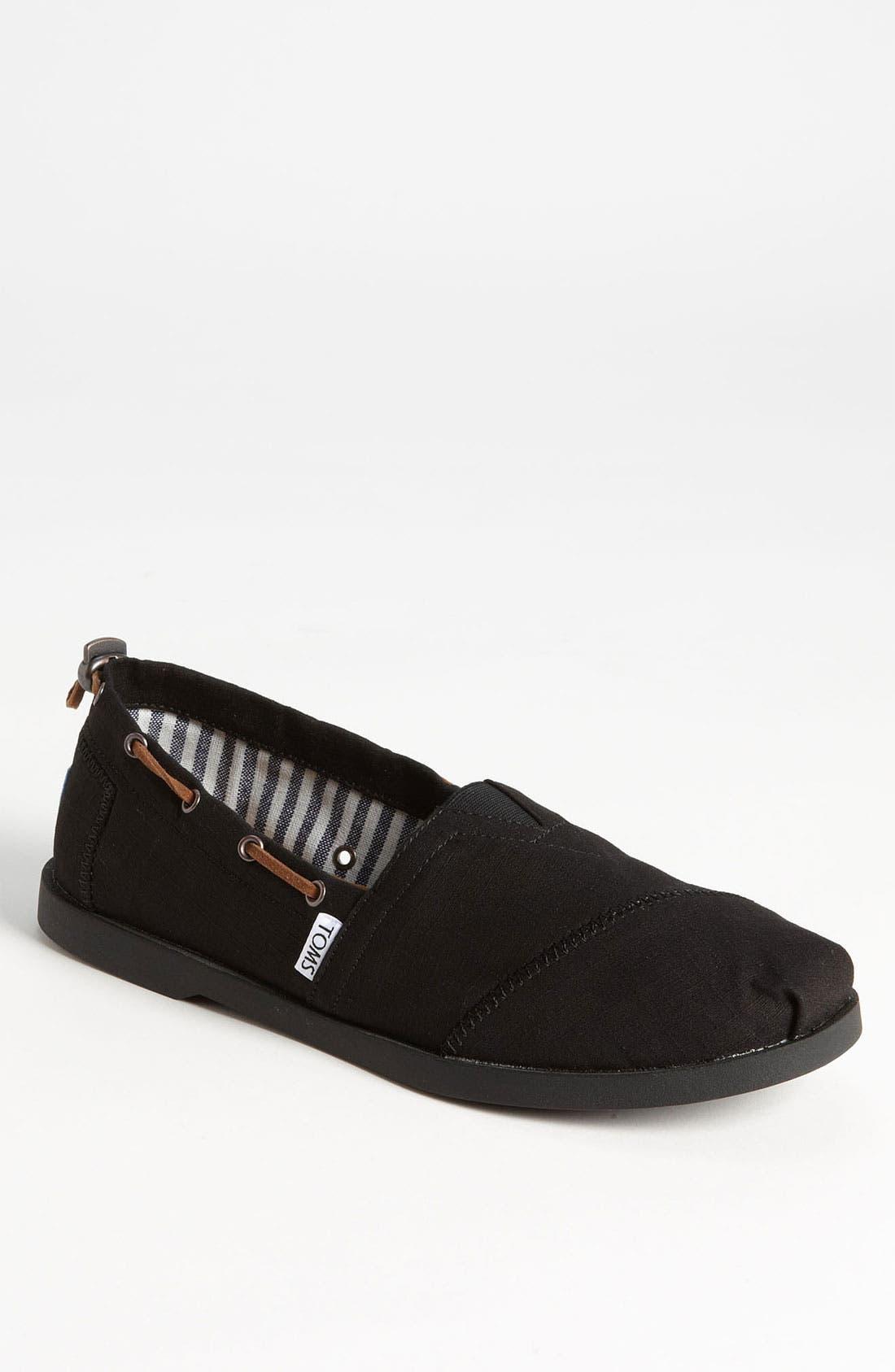 Alternate Image 1 Selected - TOMS 'Bimini - Nautical' Boat Shoe (Men)