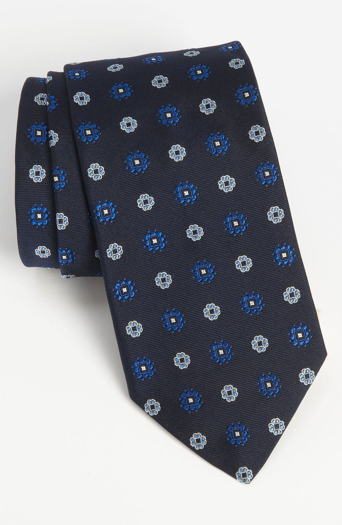 Alternate Image 1 Selected - Brooks Brothers Woven Silk Tie