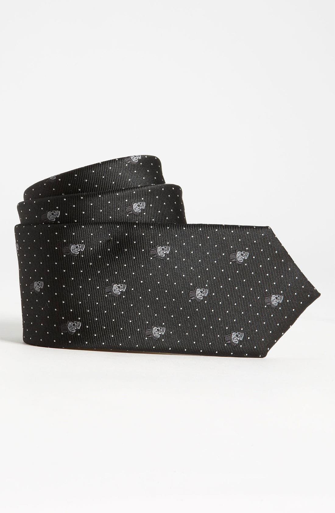 Main Image - John Varvatos Star USA Woven Silk Tie (Big Boys)