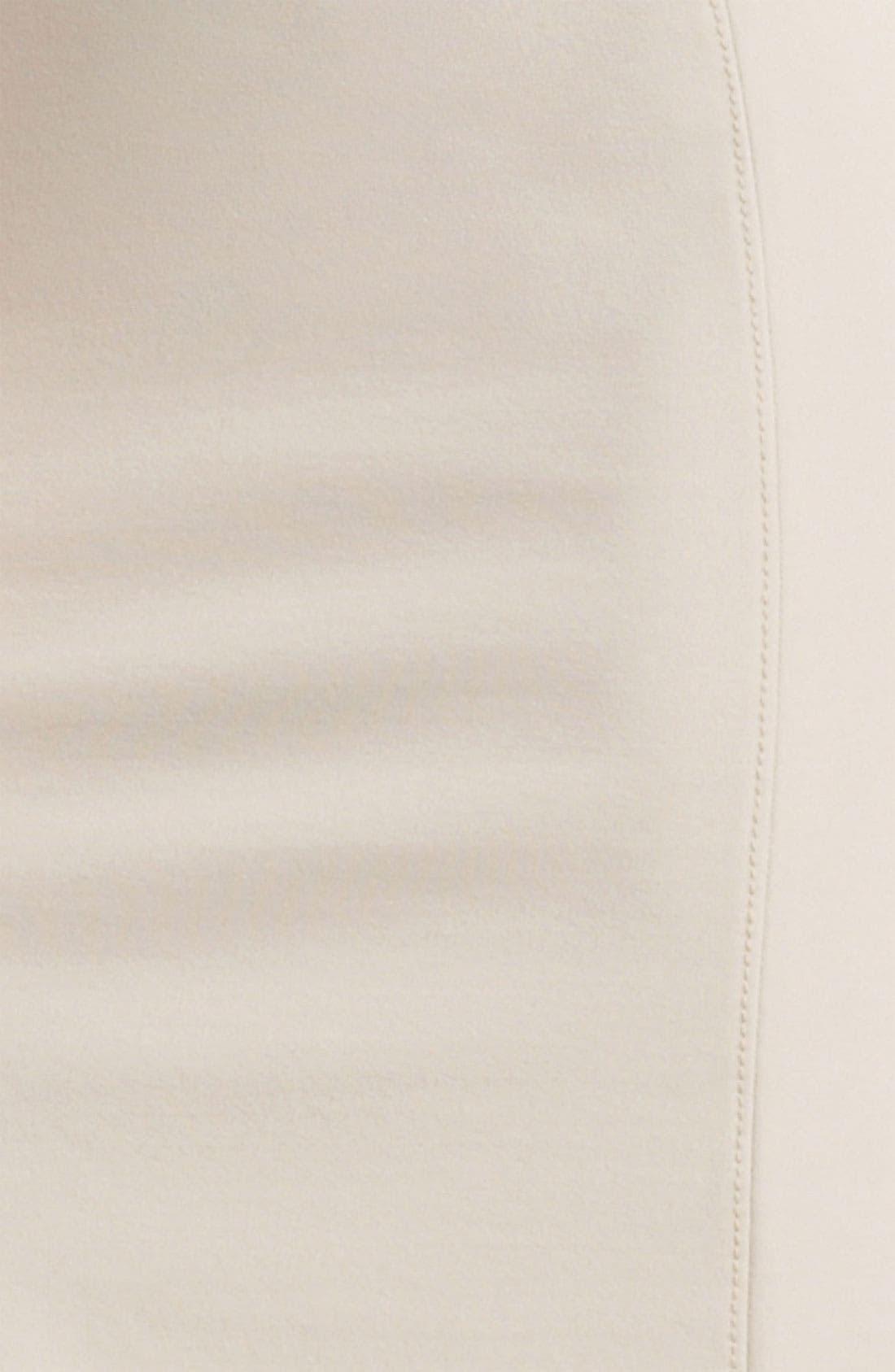 Alternate Image 3  - Armani Collezioni Seamed Jersey Dress