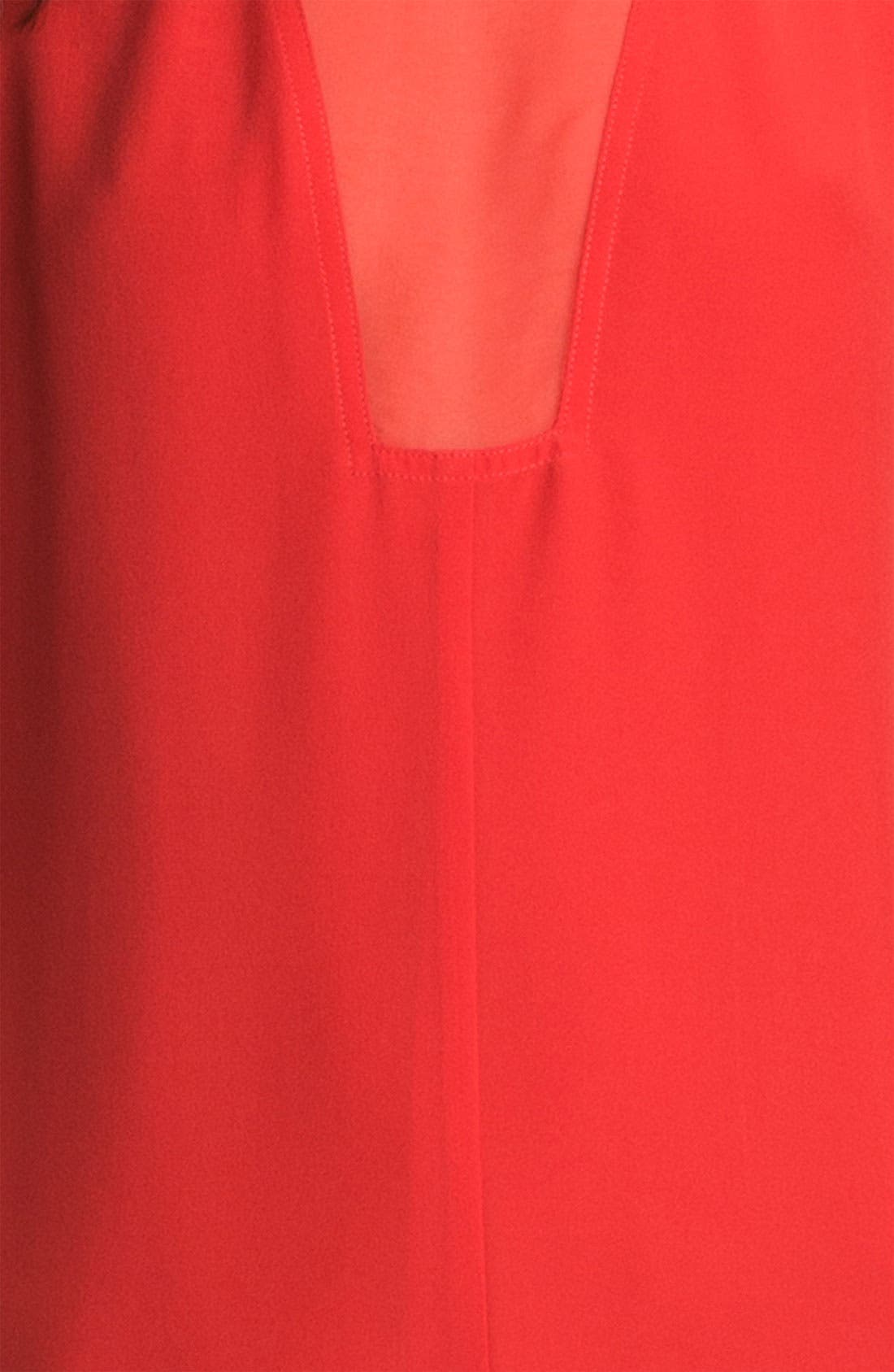 Alternate Image 3  - Rebecca Taylor Pieced Godet Dress