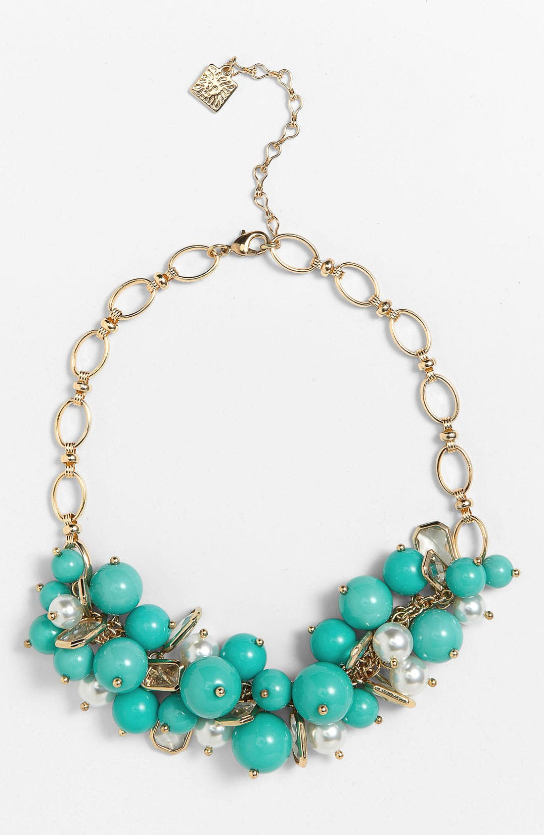 Alternate Image 1 Selected - Anne Klein Frontal Necklace