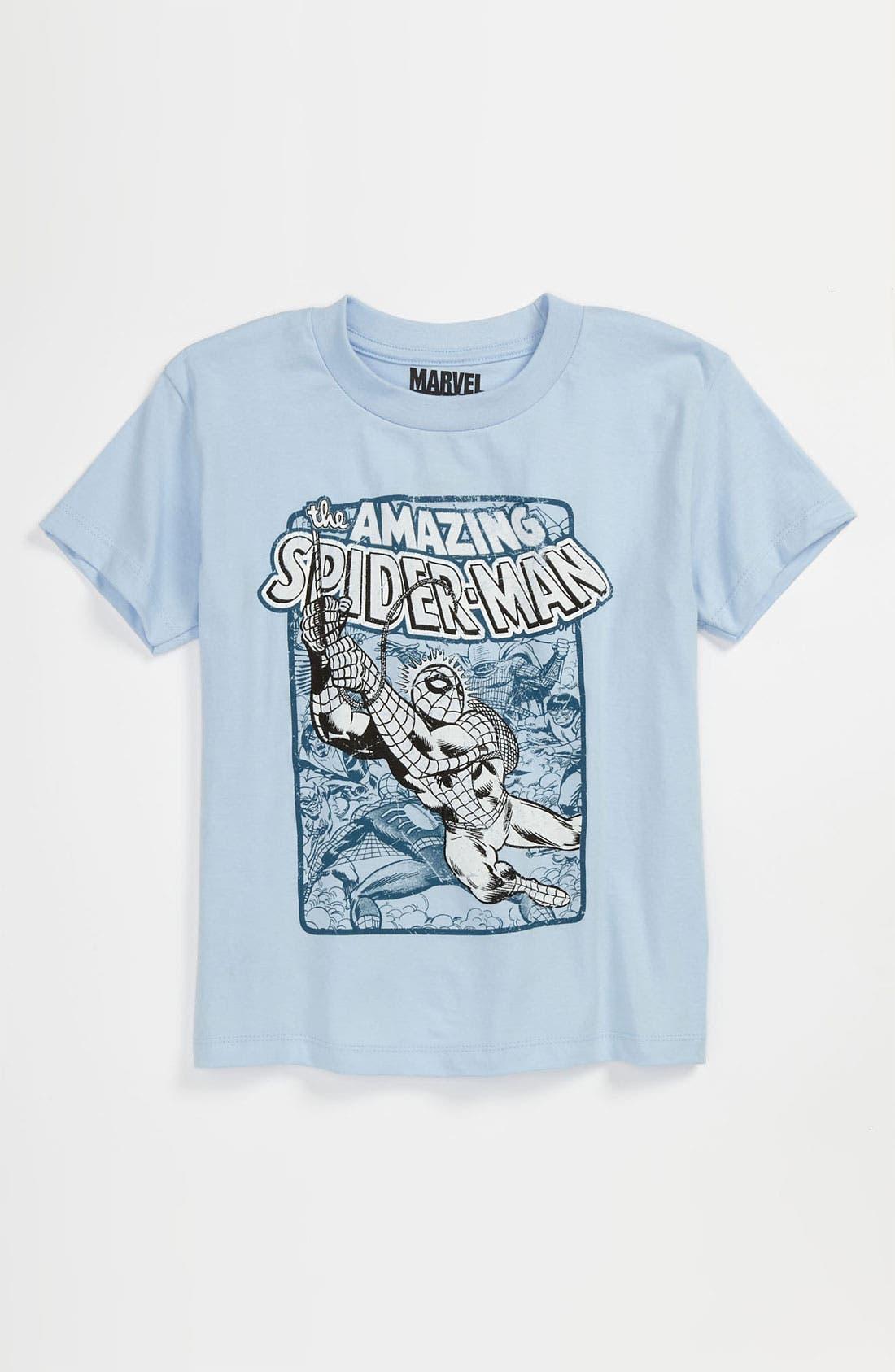 Alternate Image 1 Selected - Jem 'Swing Spidey UV' T-Shirt (Little Boys)