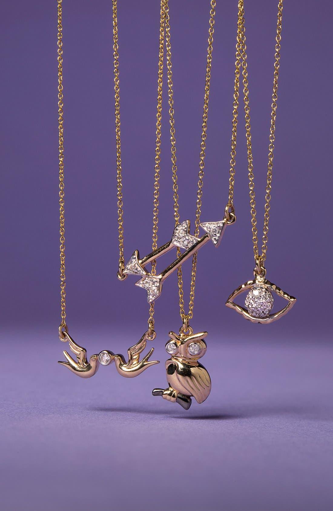 Alternate Image 3  - Whitney Stern Double Dove Pendant Necklace
