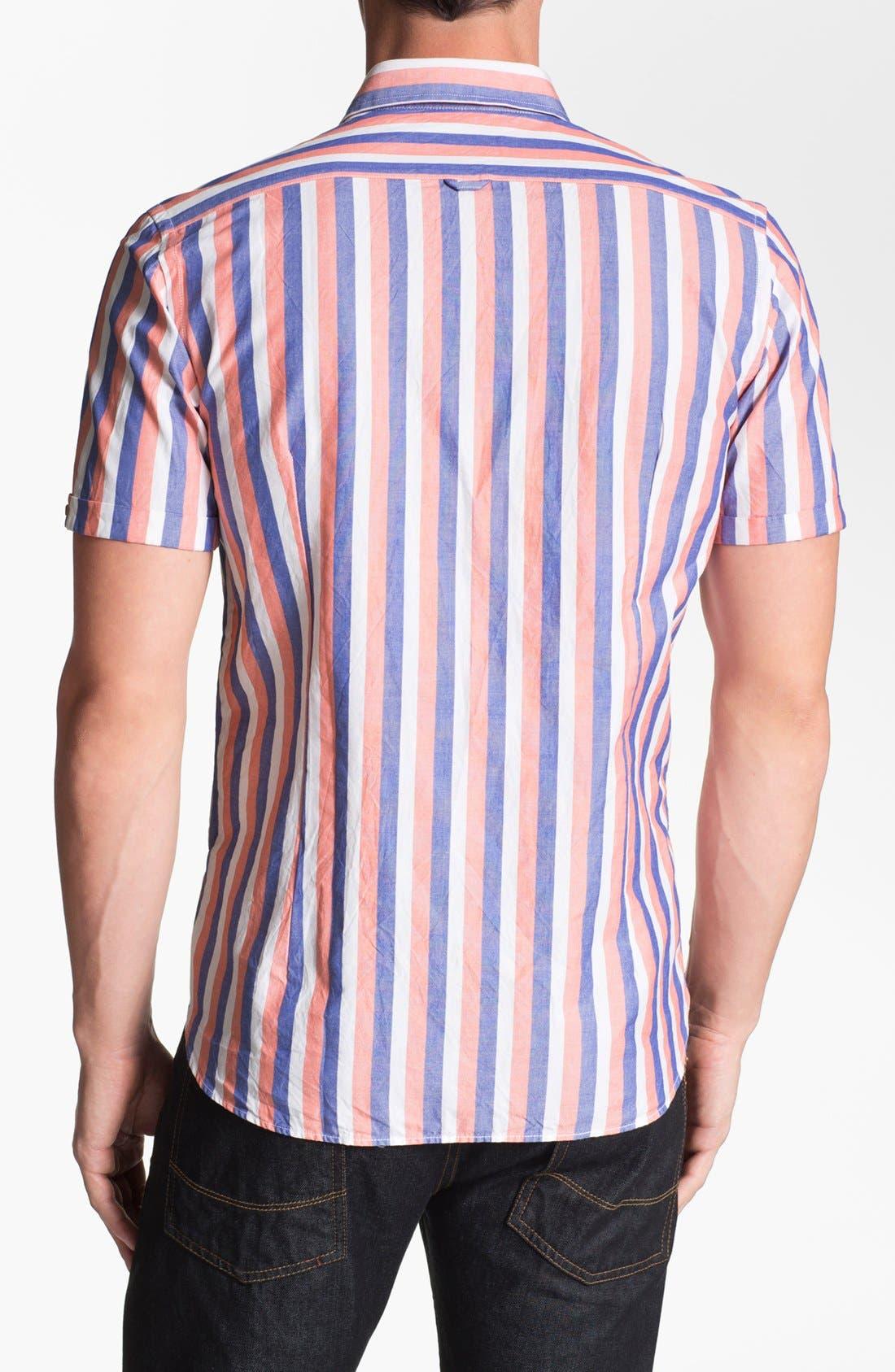 Alternate Image 2  - Ted Baker London 'Rugger' Trim Fit Oxford Sport Shirt