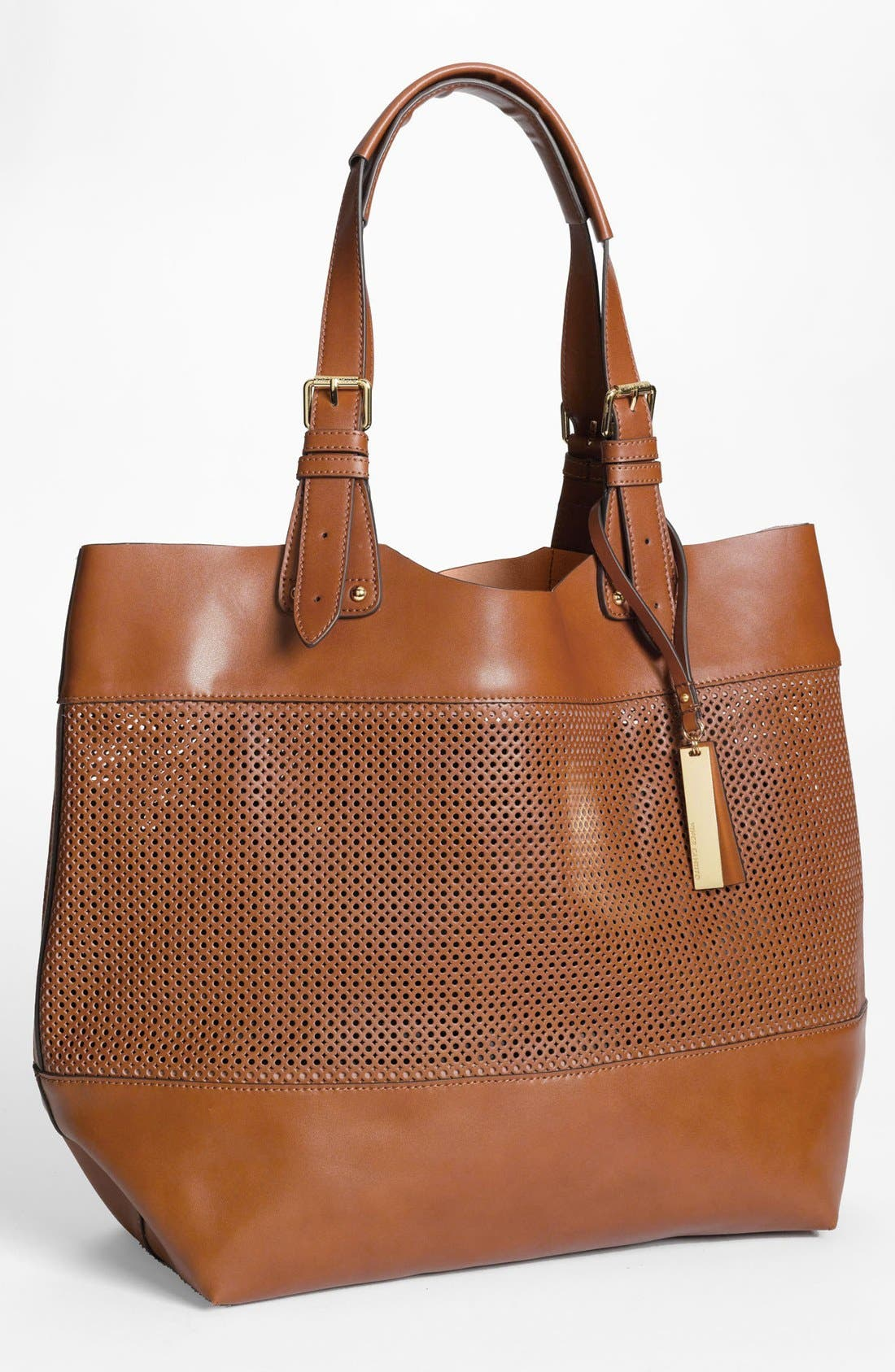 Alternate Image 1 Selected - Vince Camuto Perforated Leather Tote